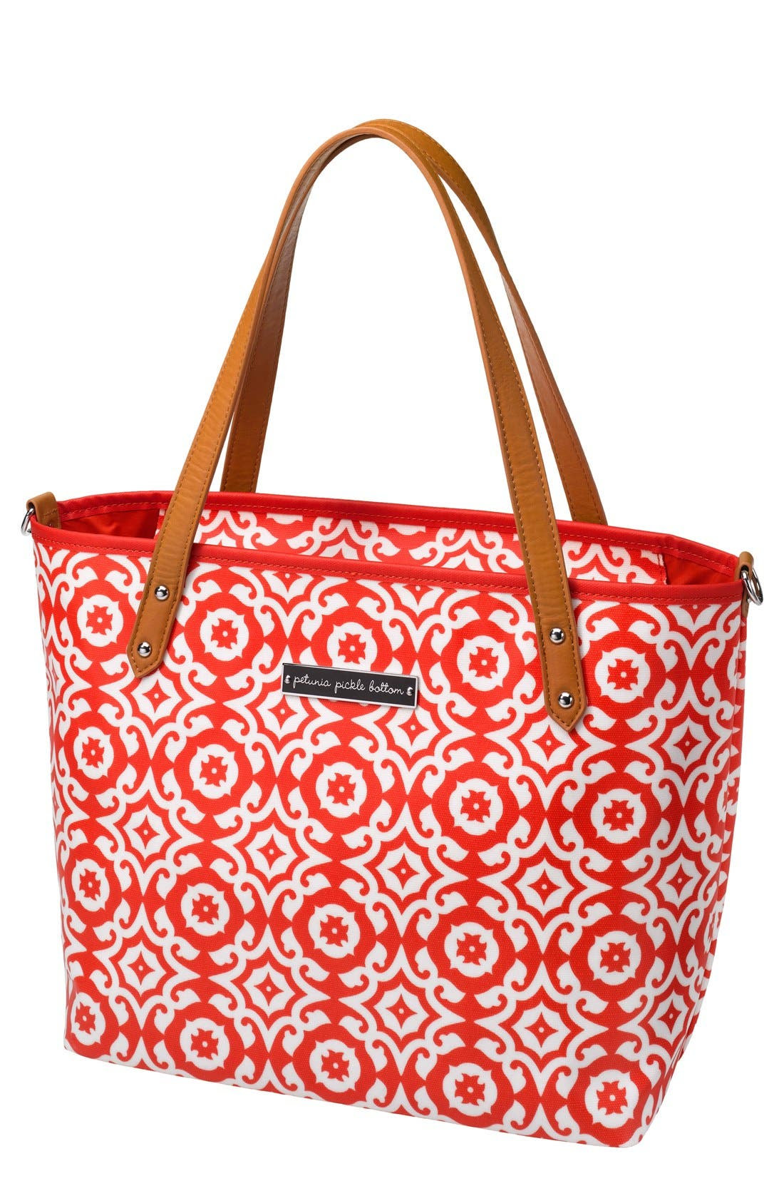 'Downtown Mini' Coated Canvas Diaper Tote,                             Main thumbnail 8, color,