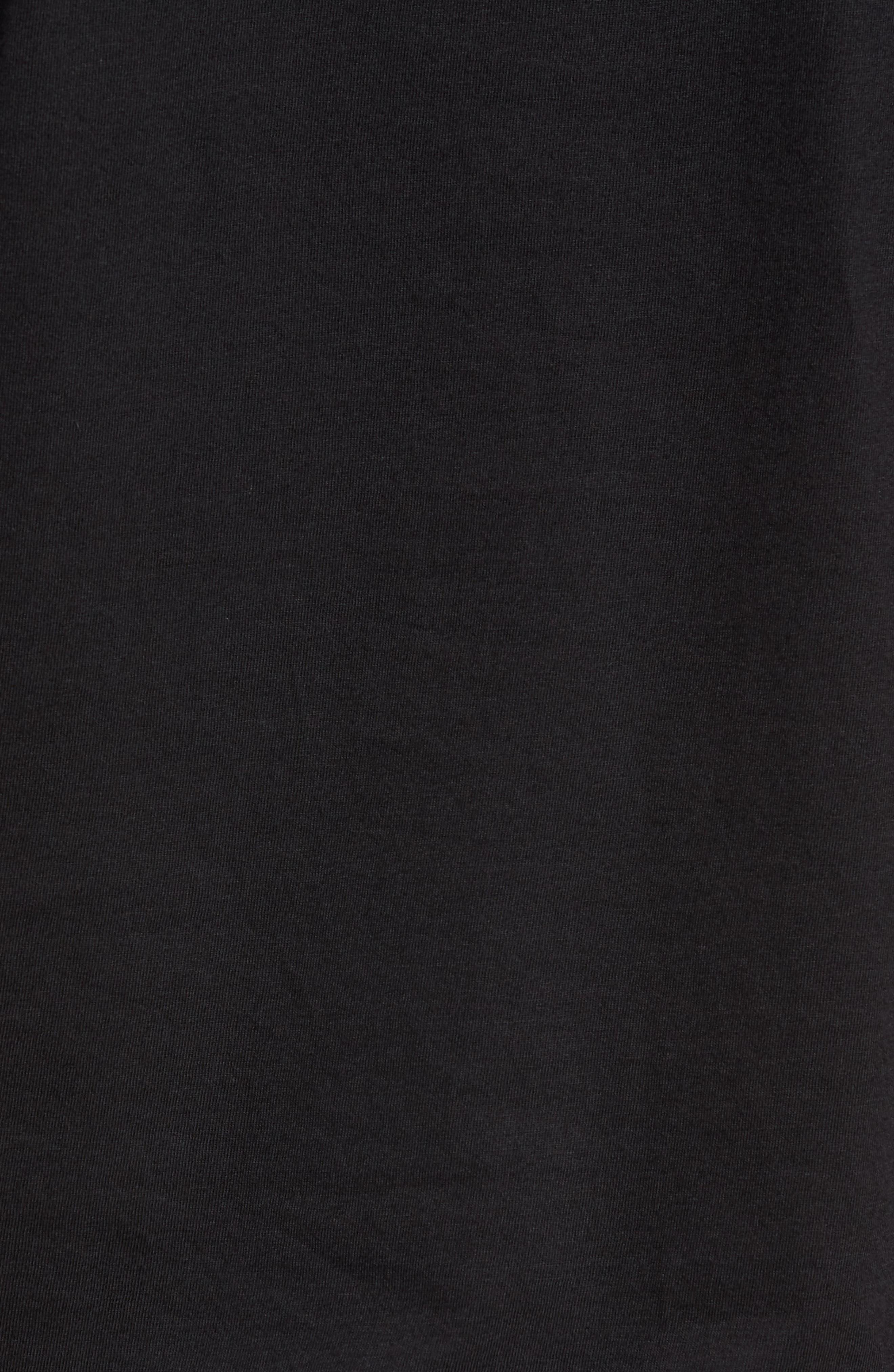 Polo Ralph Lauren 3-Pack V-Neck T-Shirts,                             Alternate thumbnail 6, color,                             POLO BLACK