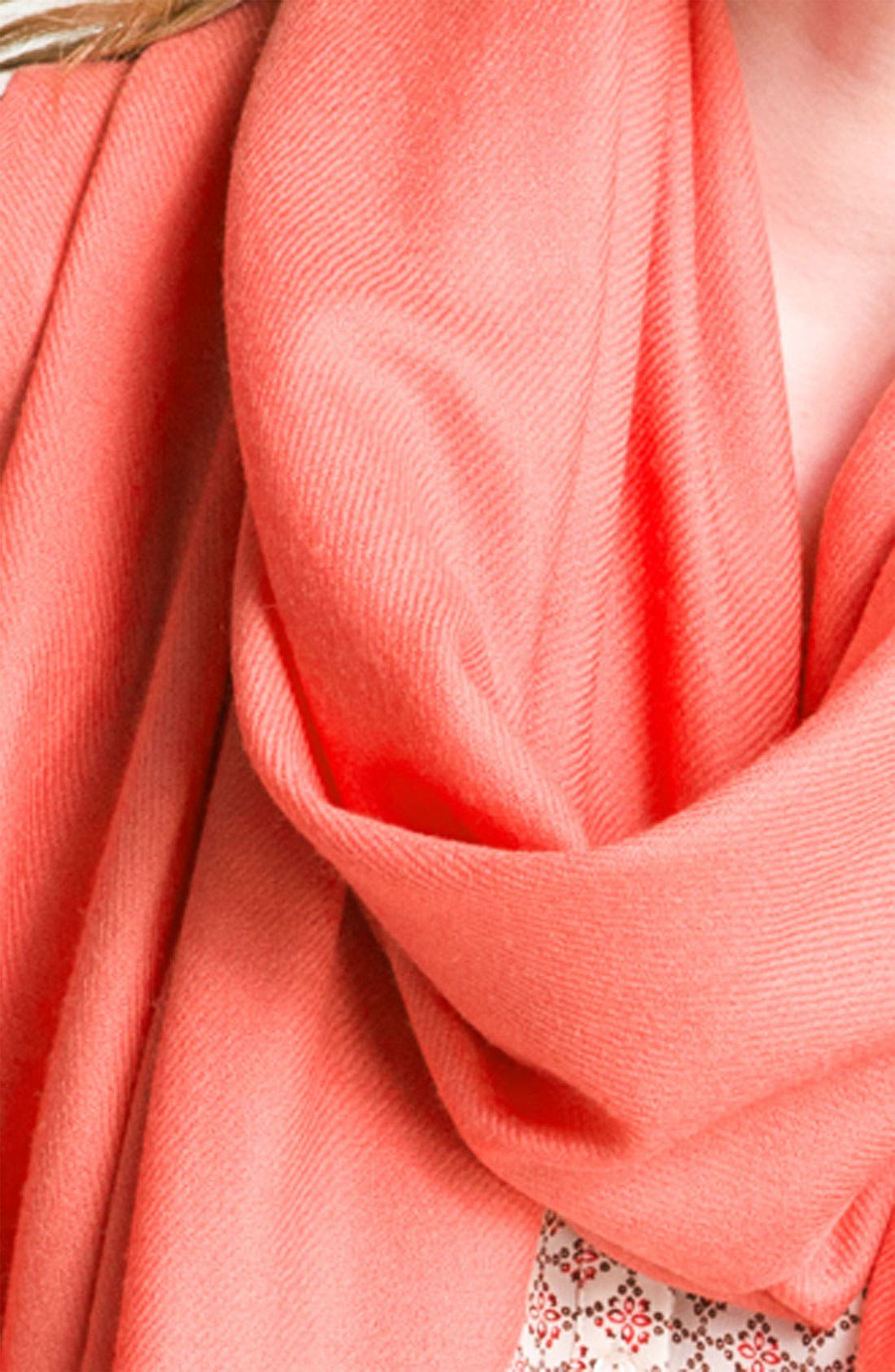 Tissue Weight Wool & Cashmere Wrap,                             Alternate thumbnail 223, color,