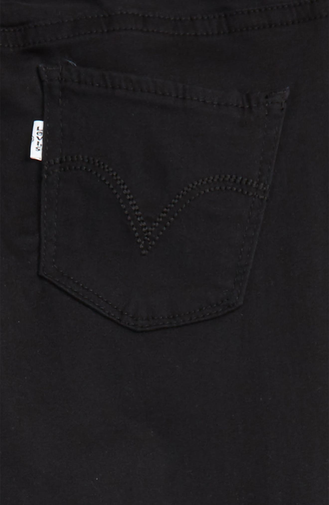 710<sup>™</sup> Super Skinny Stretch Jeans,                             Alternate thumbnail 3, color,                             001