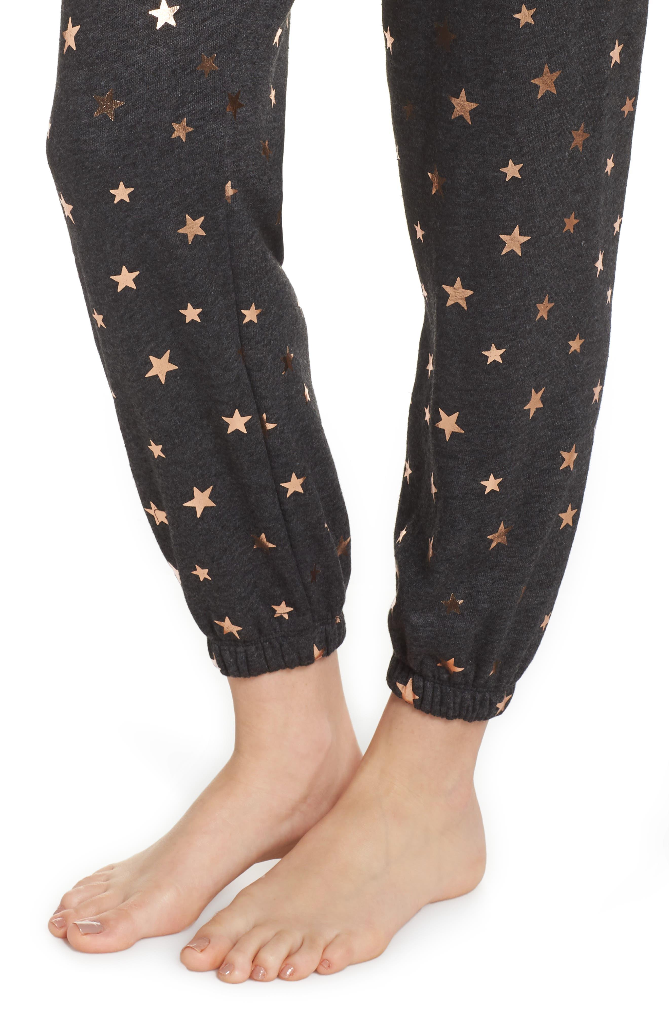 Stars Perfect Knit Pants,                             Alternate thumbnail 4, color,                             003