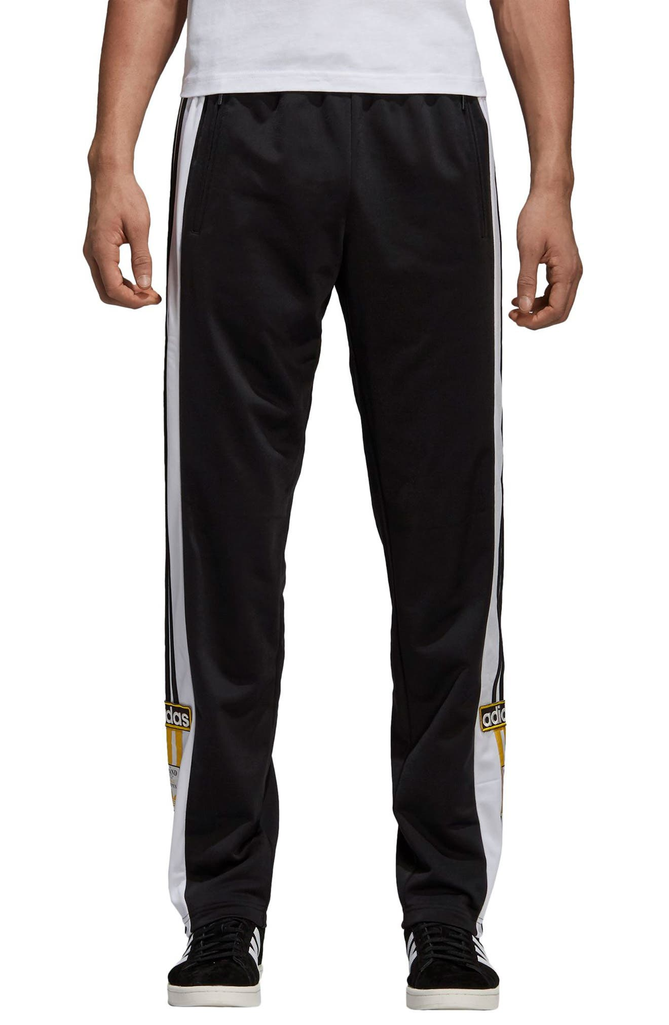 ADIDAS ORIGINALS,                             Adibreak Track Pants,                             Main thumbnail 1, color,                             001
