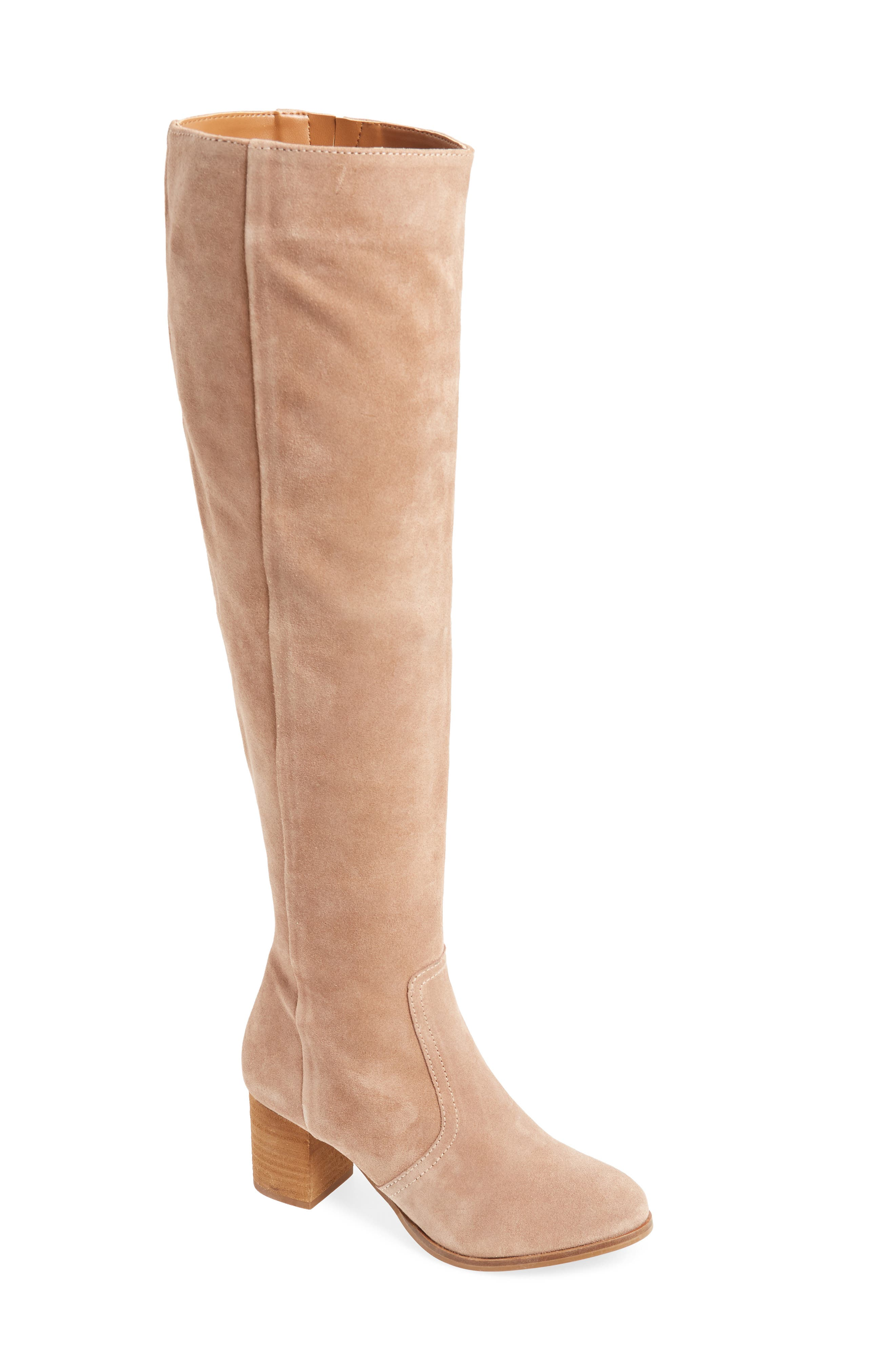 Coconuts By Matisse Sweetie Over The Knee Boot, Brown