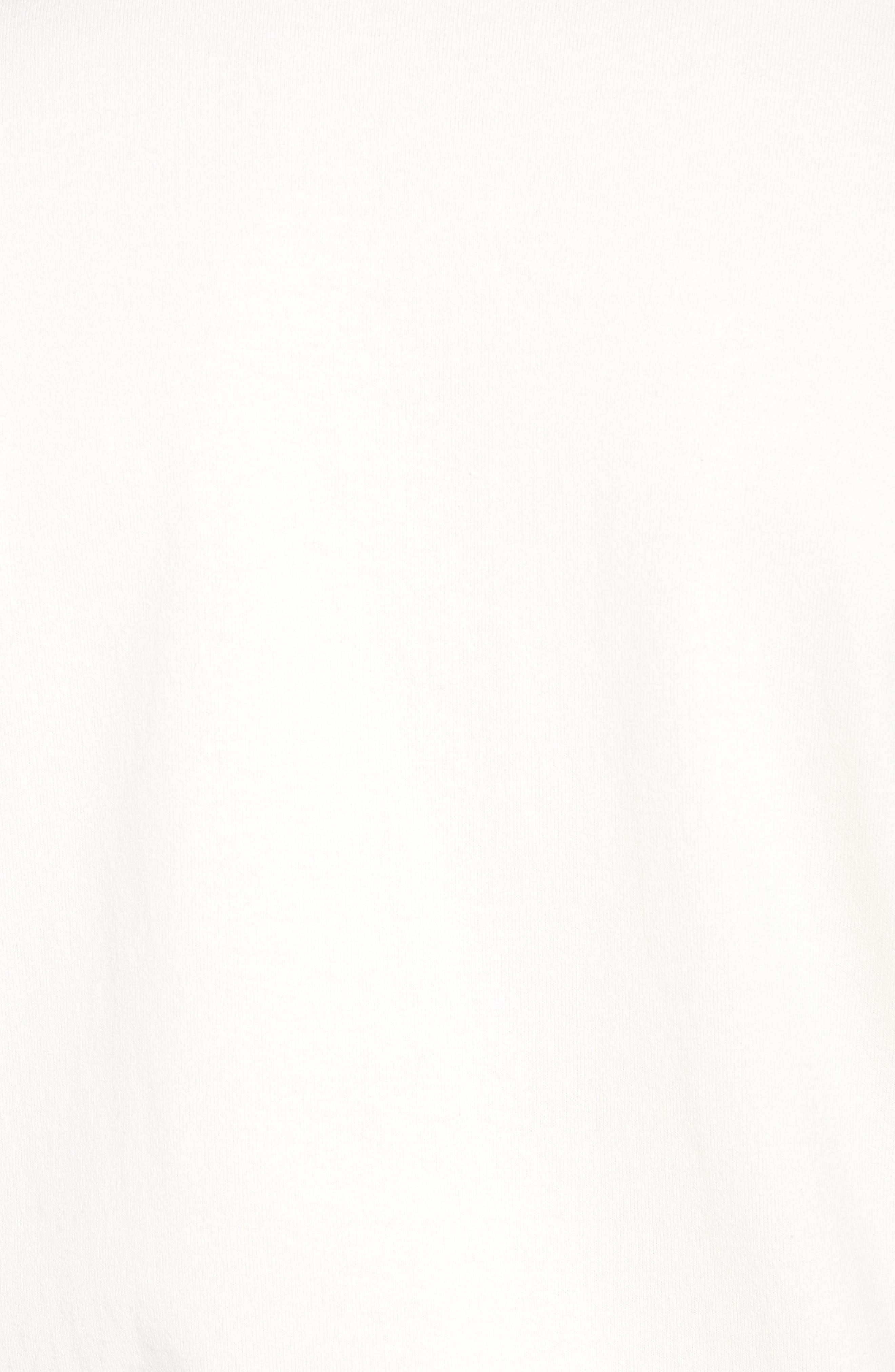Slim Fit Henley T-Shirt,                             Alternate thumbnail 5, color,                             OFF WHITE