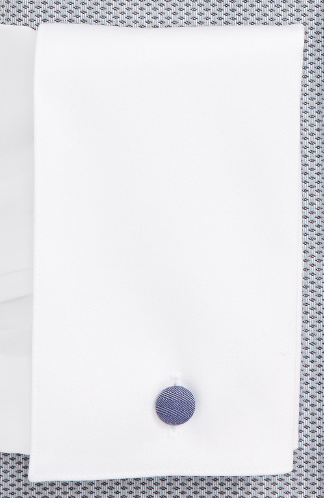 Contemporary Fit Tuxedo Shirt,                             Alternate thumbnail 2, color,                             020