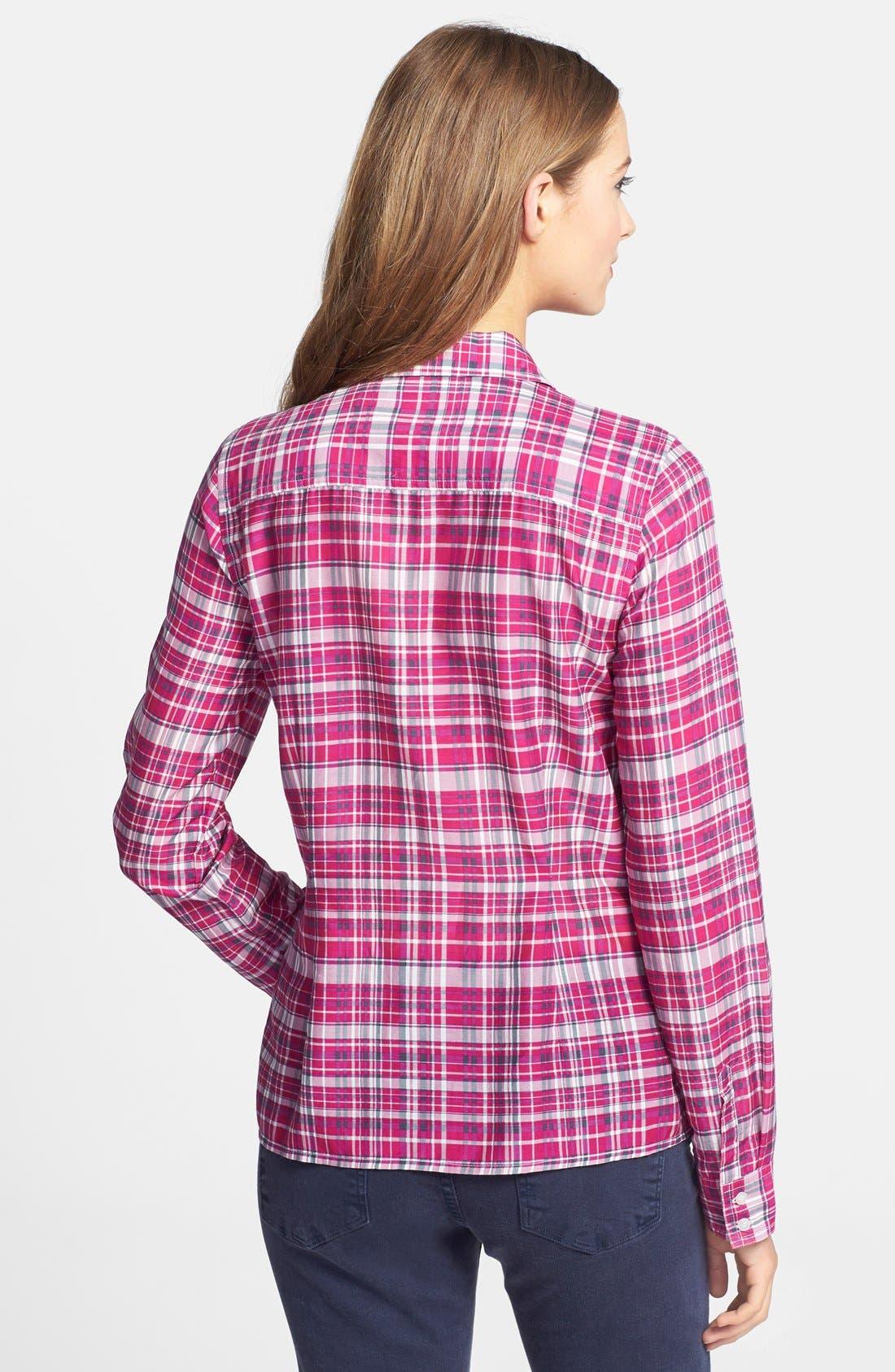Cotton & Silk Shirt,                             Alternate thumbnail 123, color,