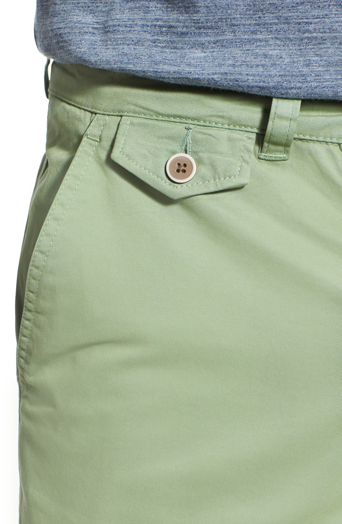 'Sunny' Stretch Twill Chino Shorts,                             Alternate thumbnail 22, color,