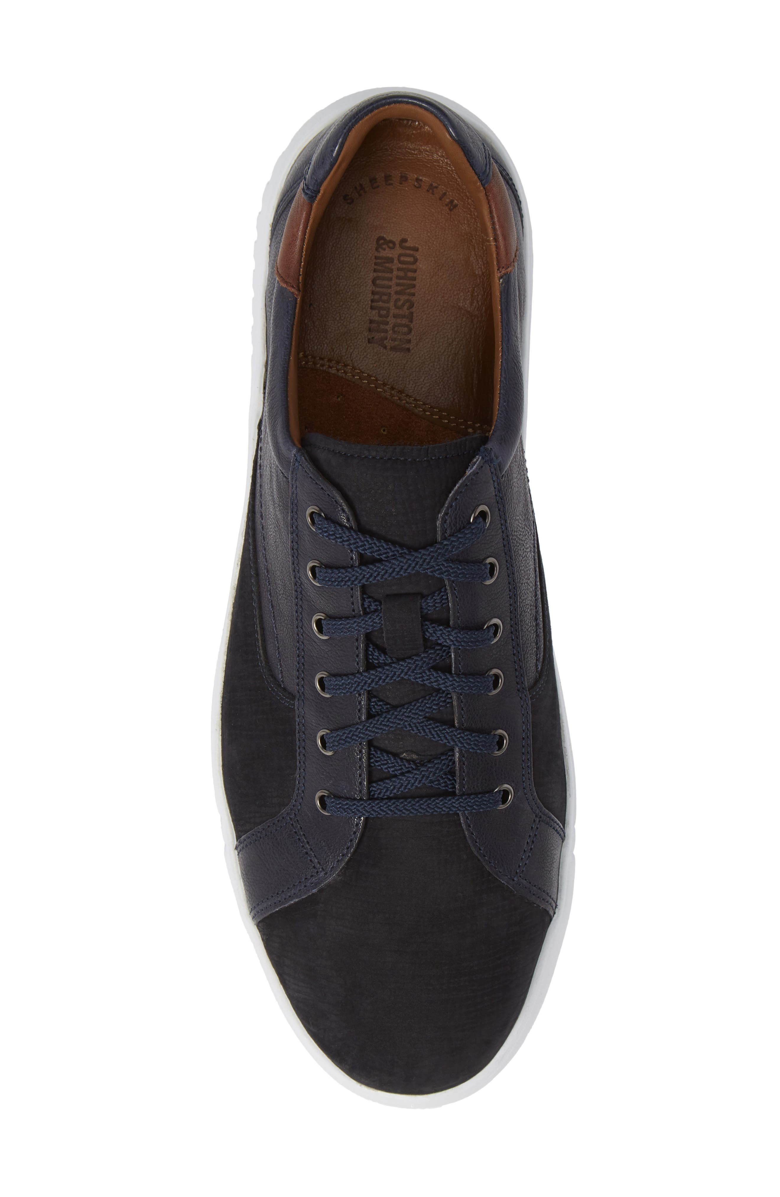 McFarland Sneaker,                             Alternate thumbnail 5, color,                             NAVY NUBUCK