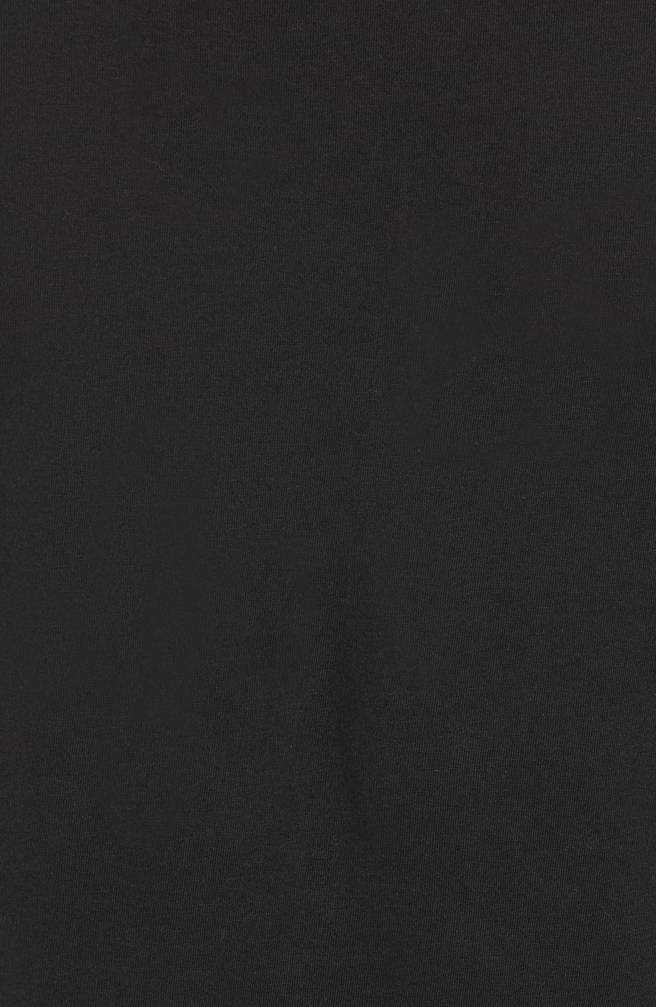 Love Struck T-Shirt,                             Alternate thumbnail 5, color,                             BLACK CALLUNA YELLOW WHITE