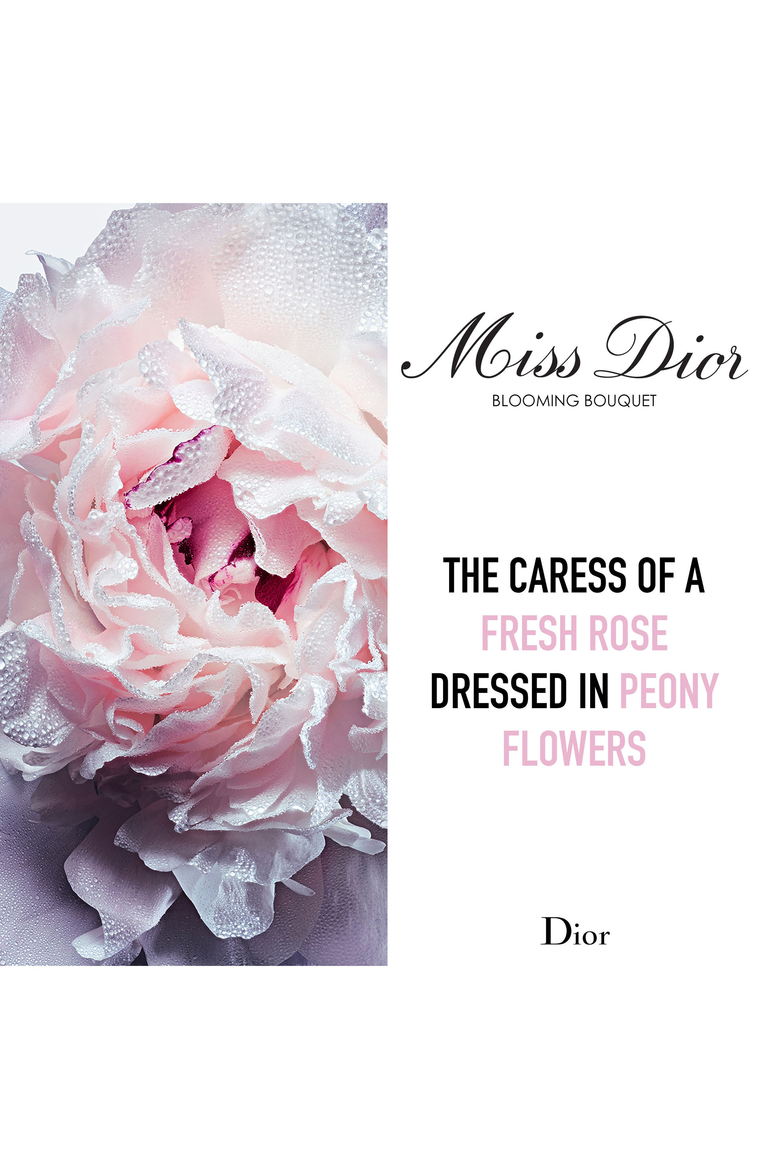 Miss Dior Blooming Bouquet Eau de Toilette,                             Alternate thumbnail 4, color,                             NO COLOR