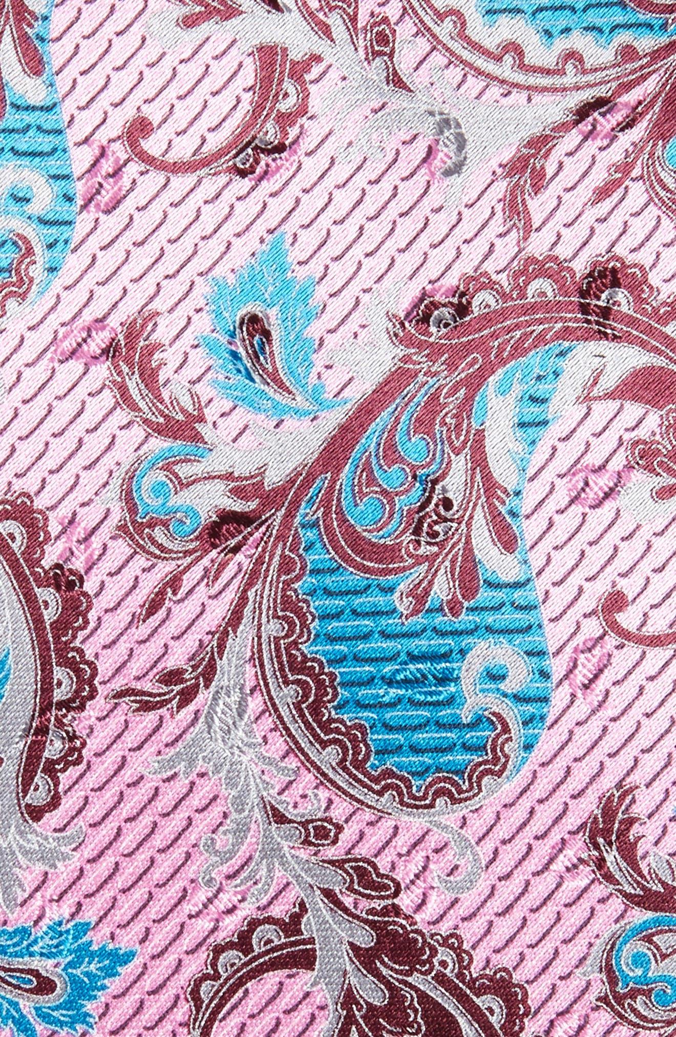 Paisley Silk Tie,                             Alternate thumbnail 2, color,                             668