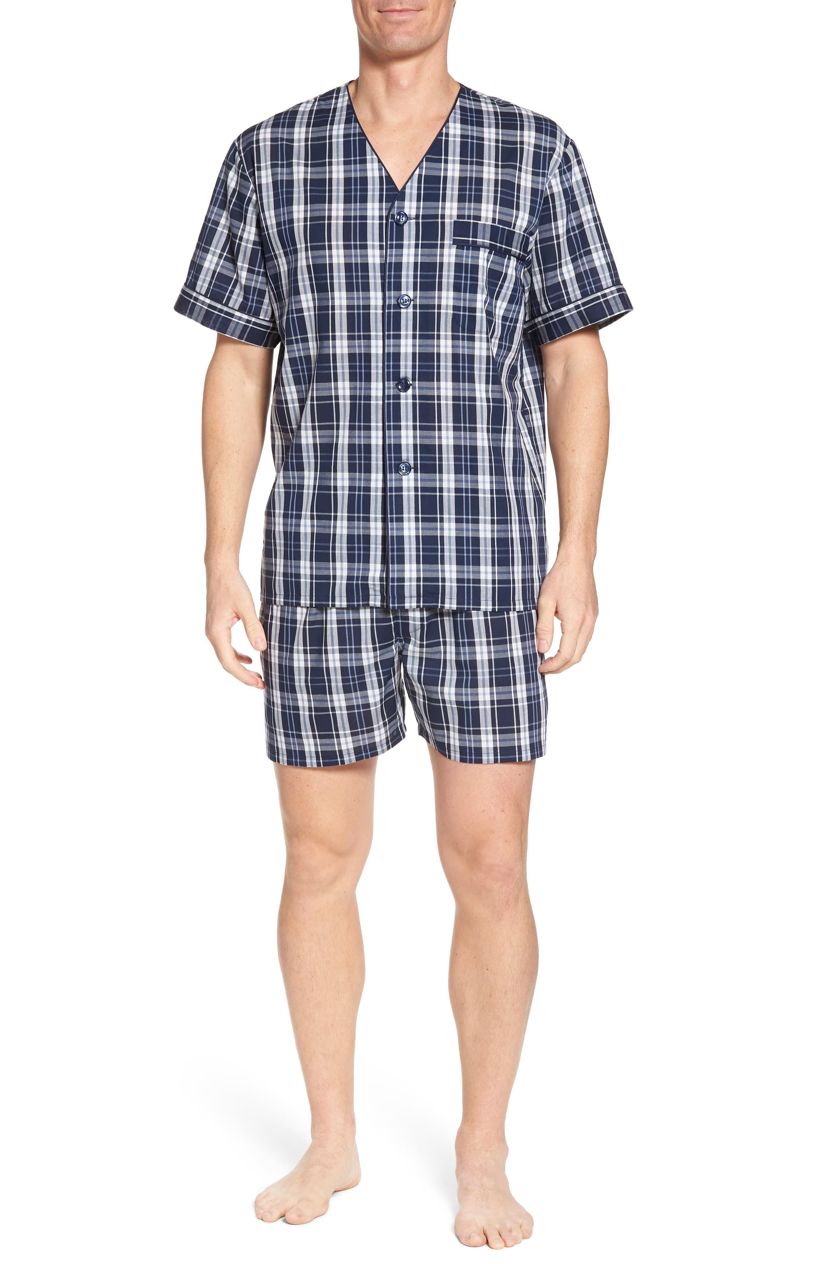 Carefree Shorty Pajama Set,                             Main thumbnail 1, color,                             400