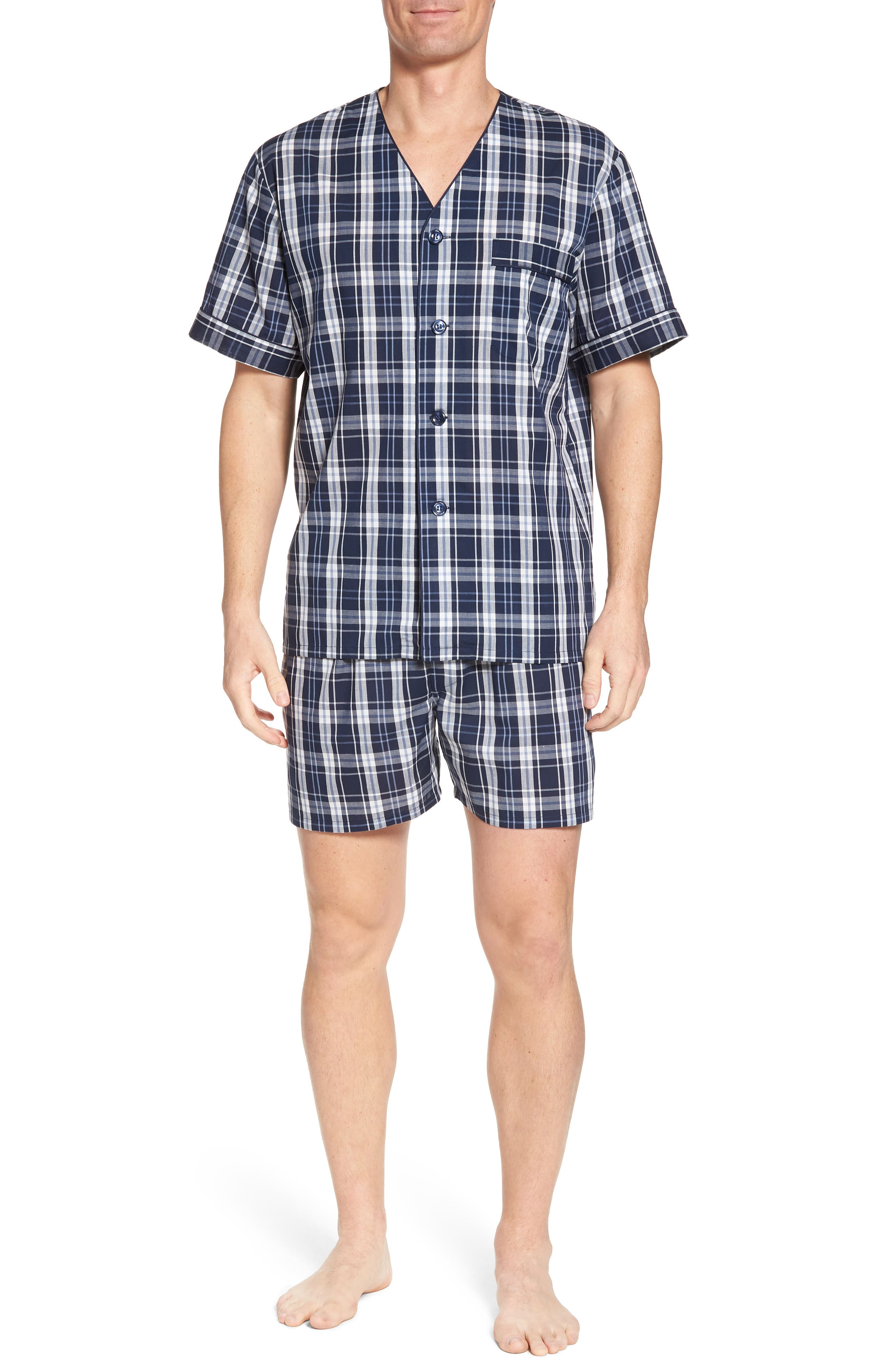 Carefree Shorty Pajama Set,                         Main,                         color, 400