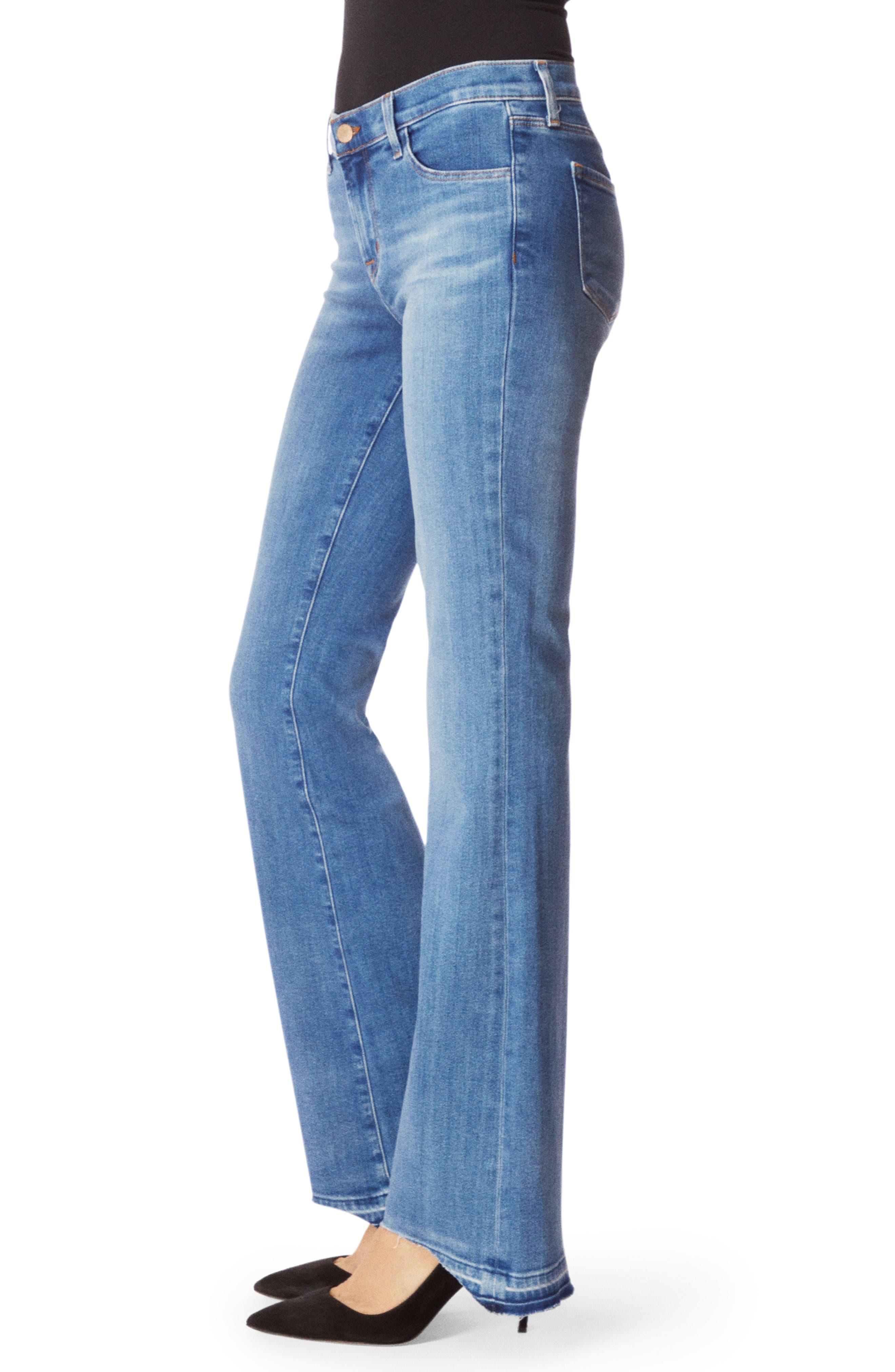 Sallie Release Hem Bootcut Jeans,                             Alternate thumbnail 3, color,                             RADIATE
