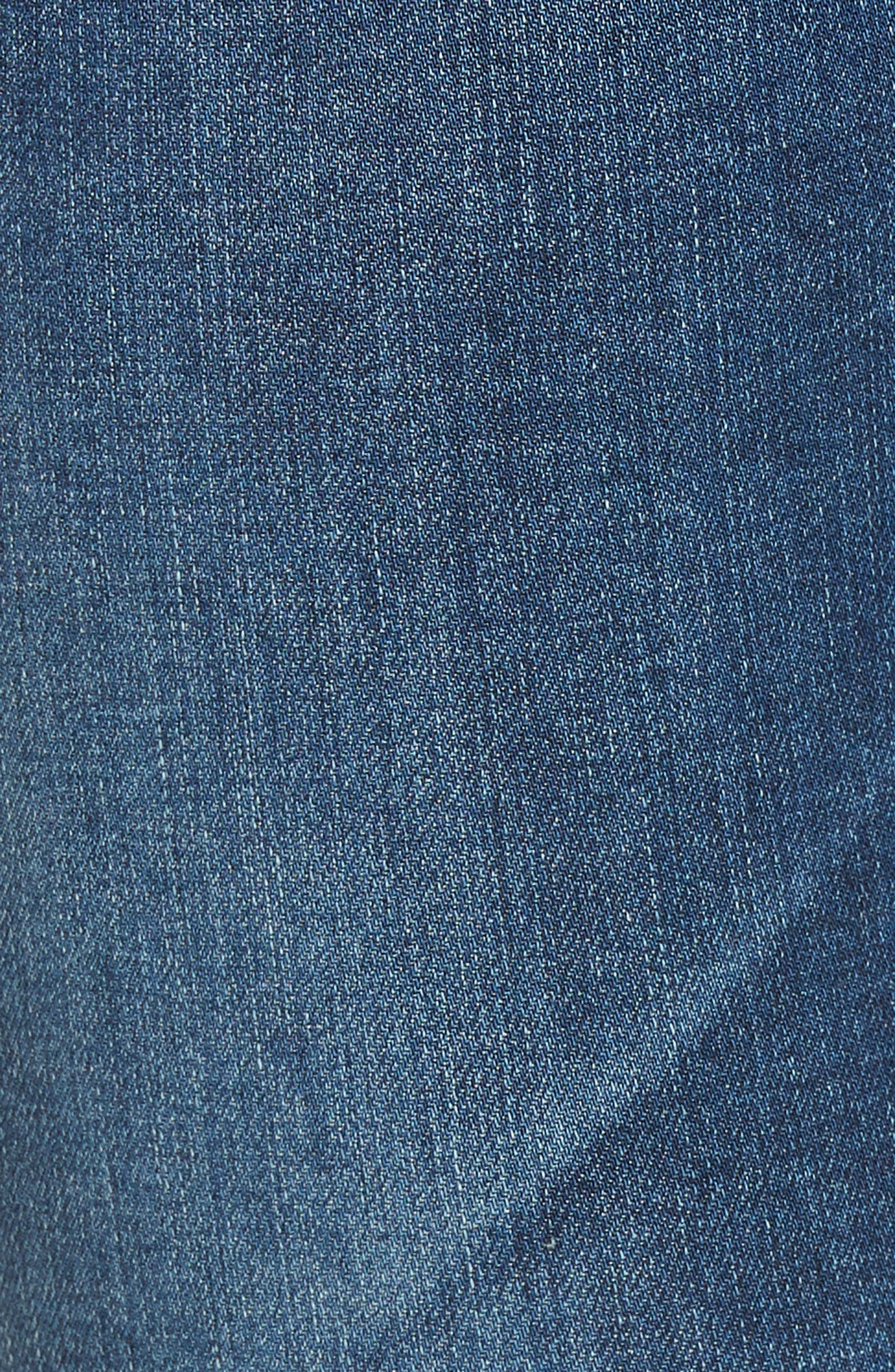 The Legging Ankle Super Skinny Jeans,                             Alternate thumbnail 6, color,                             421