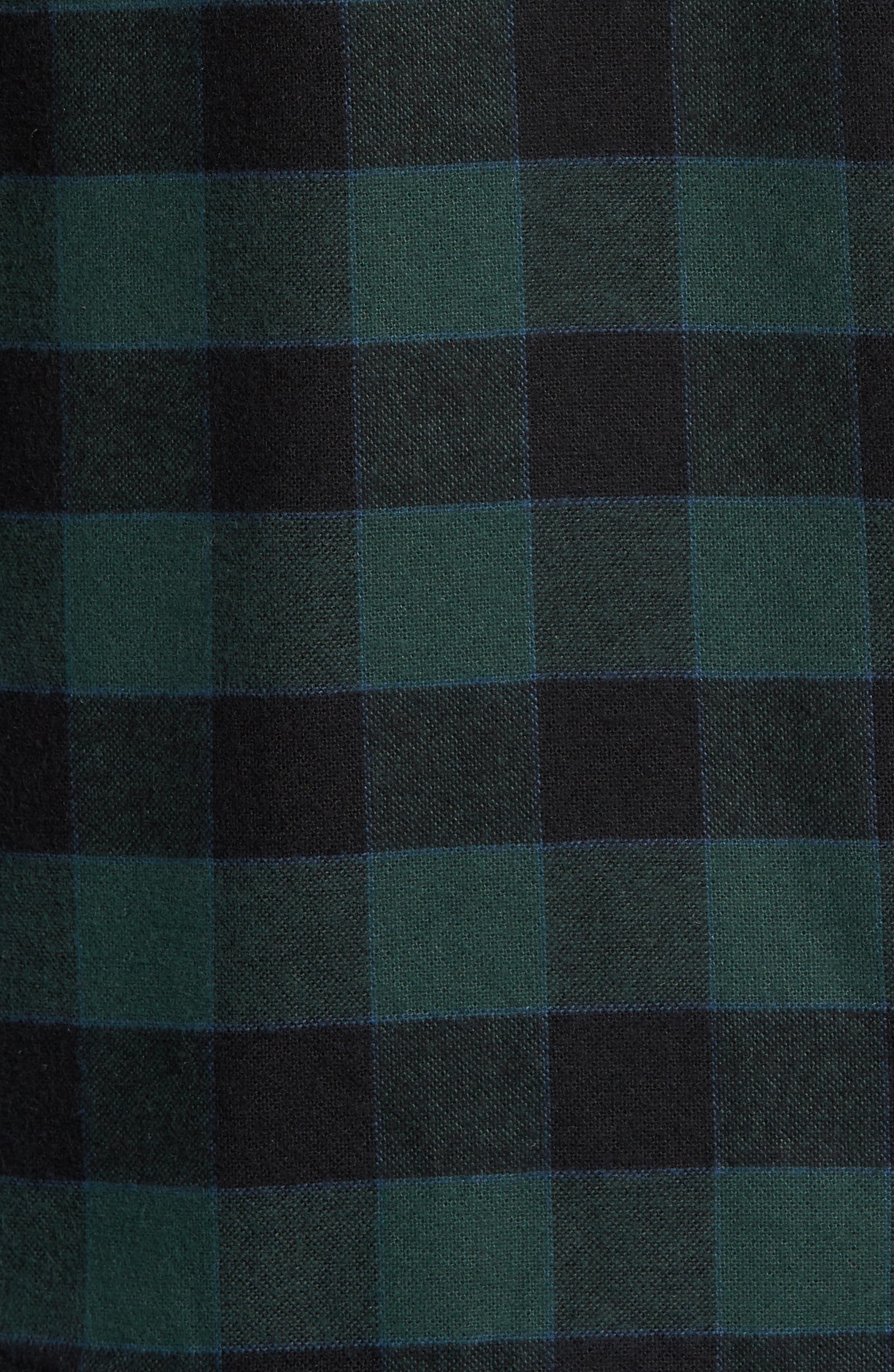 Check Shirt Jacket with Faux Shearling Lining,                             Alternate thumbnail 6, color,                             301