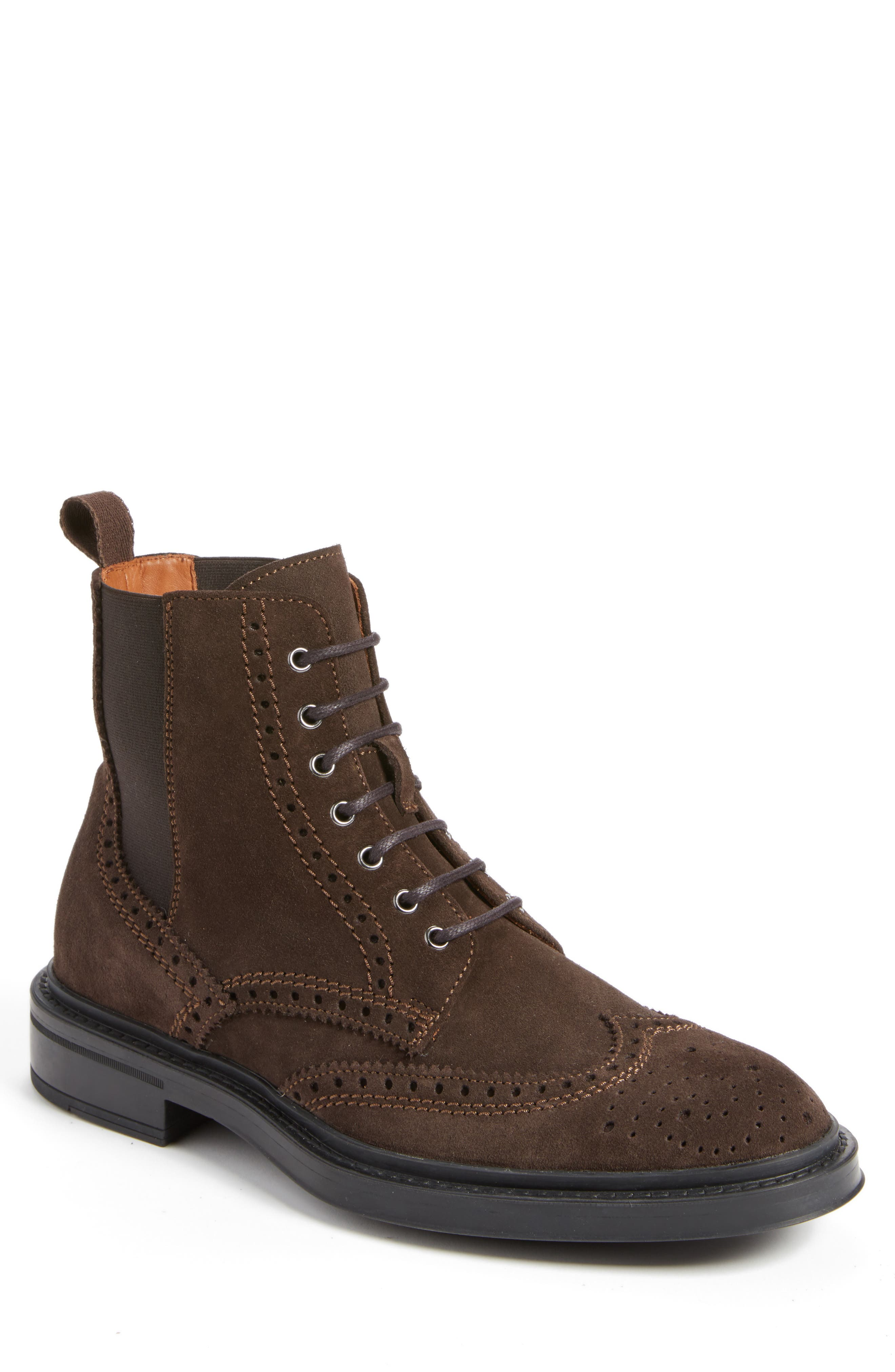 Lawrence Wingtip Boot,                         Main,                         color, 201