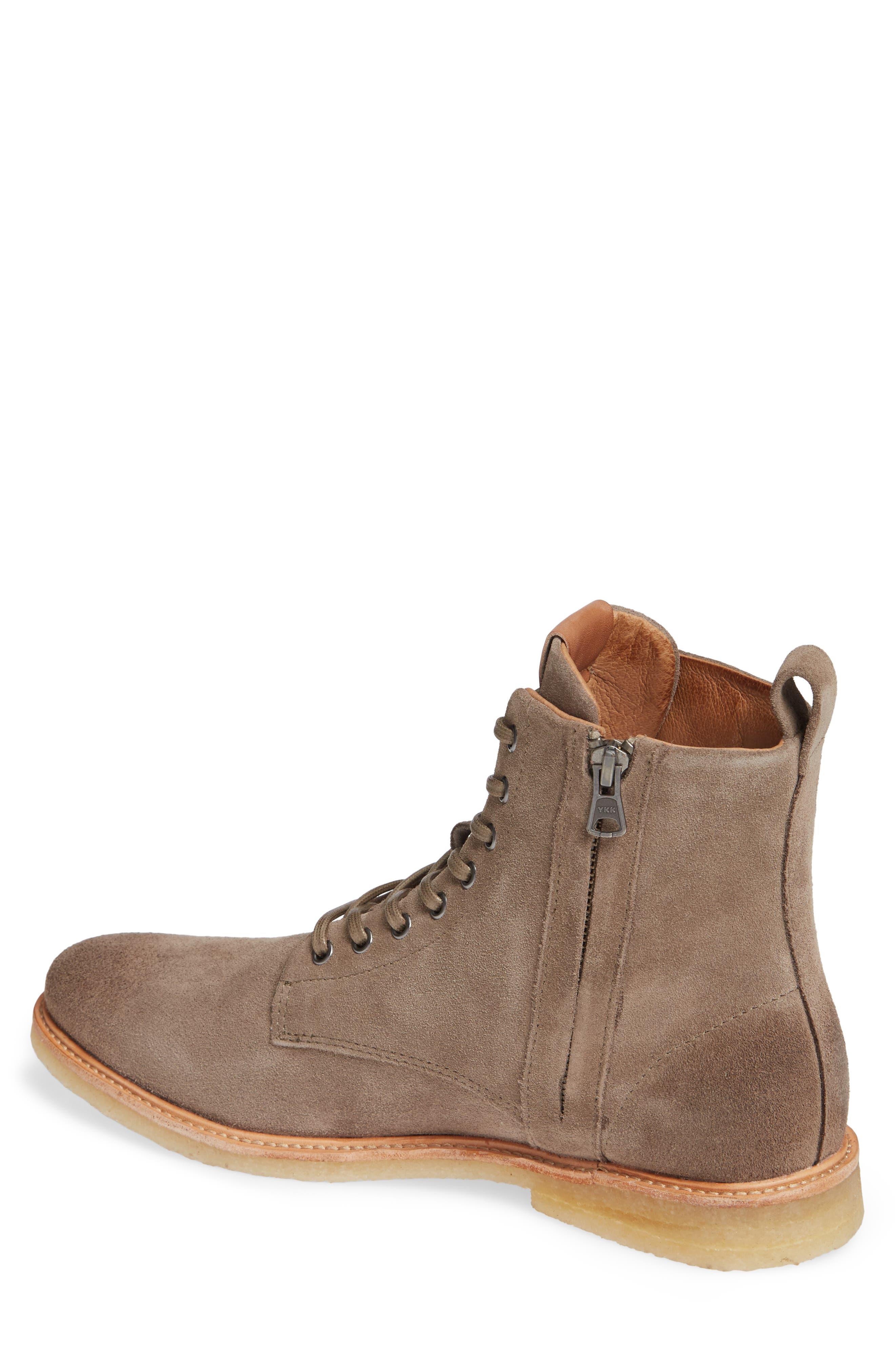 QM23 Plain Toe Boot,                             Alternate thumbnail 2, color,                             GREY