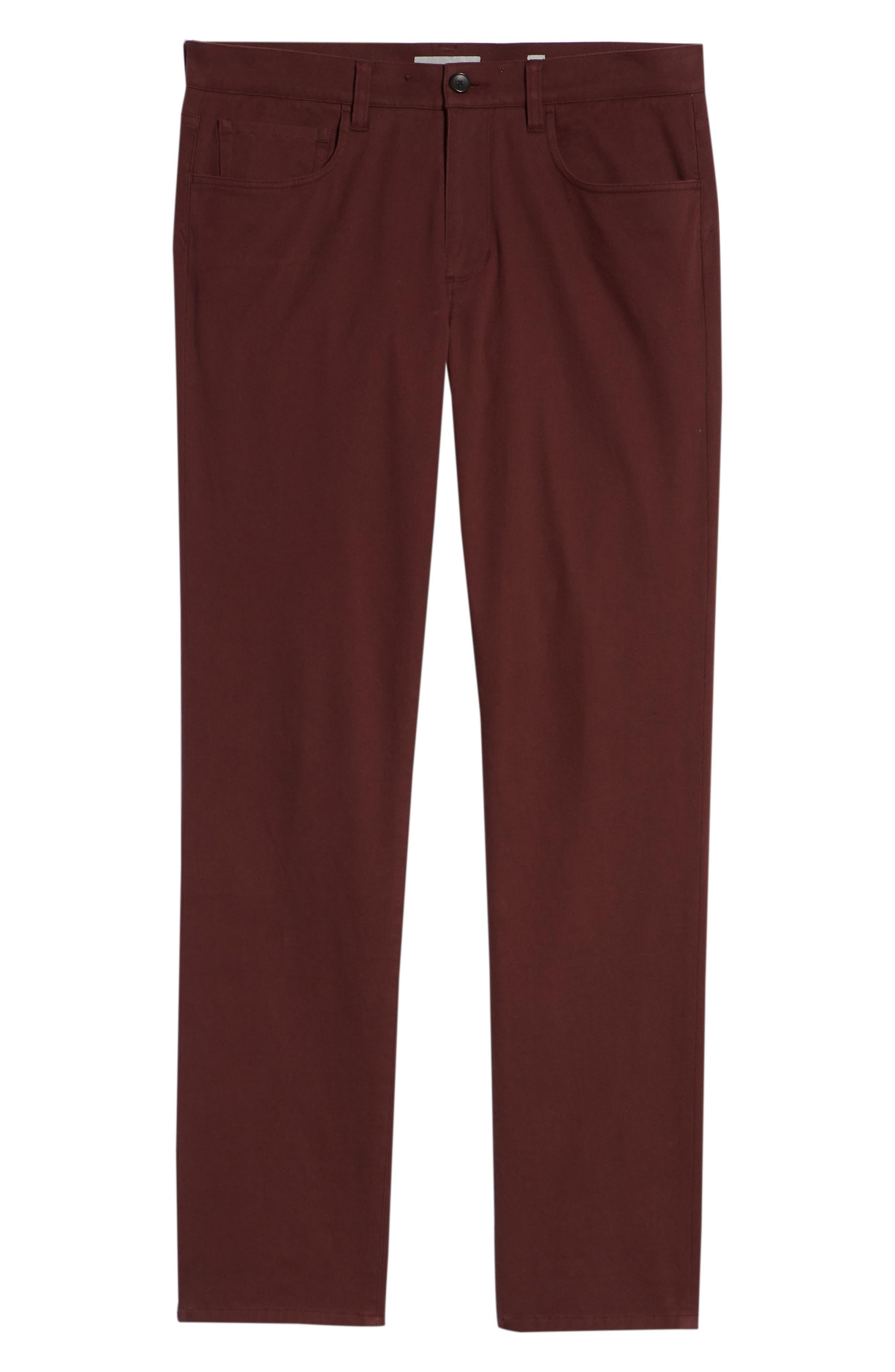 Regular Fit Five-Pocket Pants,                             Alternate thumbnail 12, color,