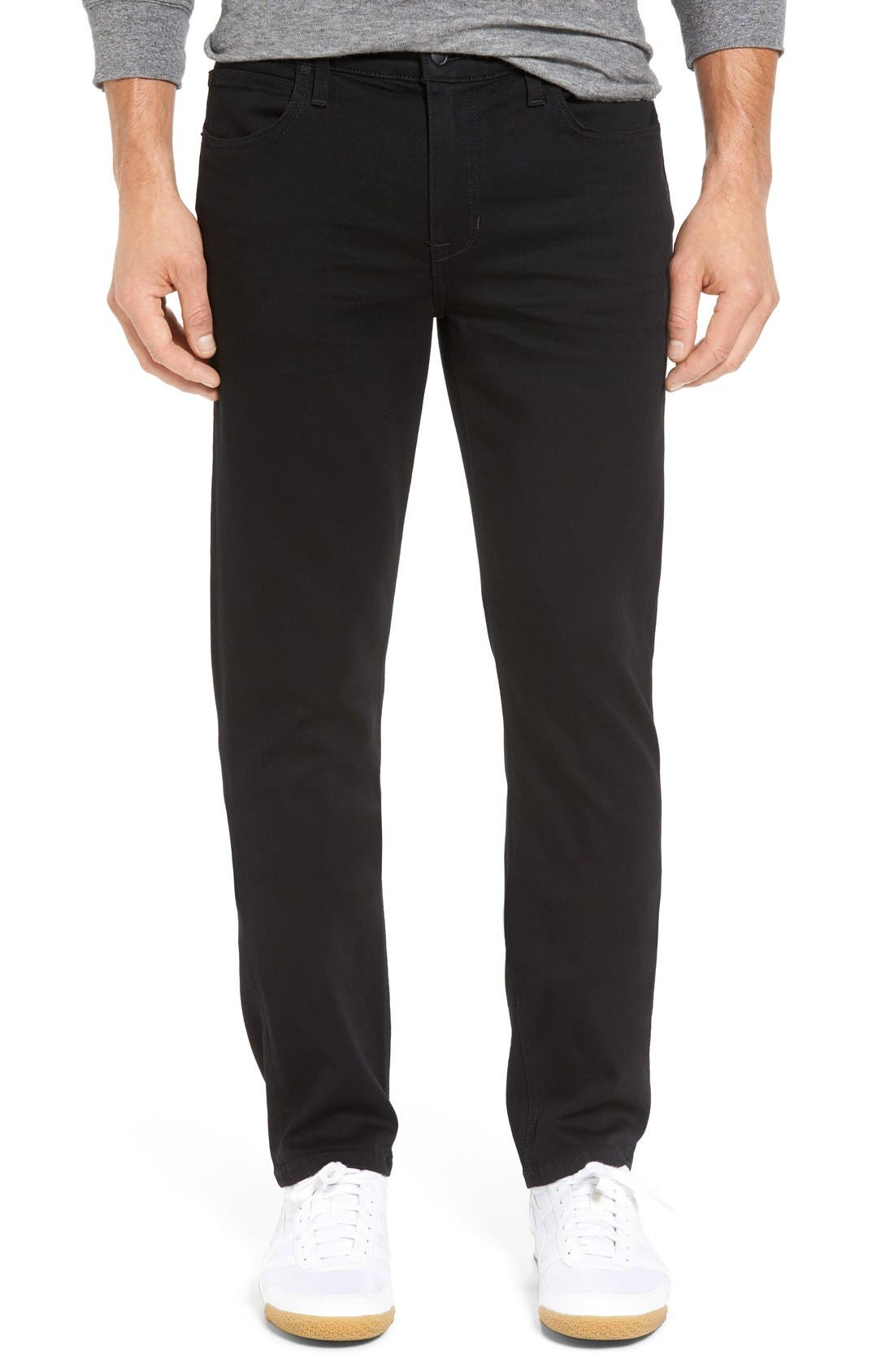 Brixton Kinetic Slim Straight Fit Jeans,                         Main,                         color, 001