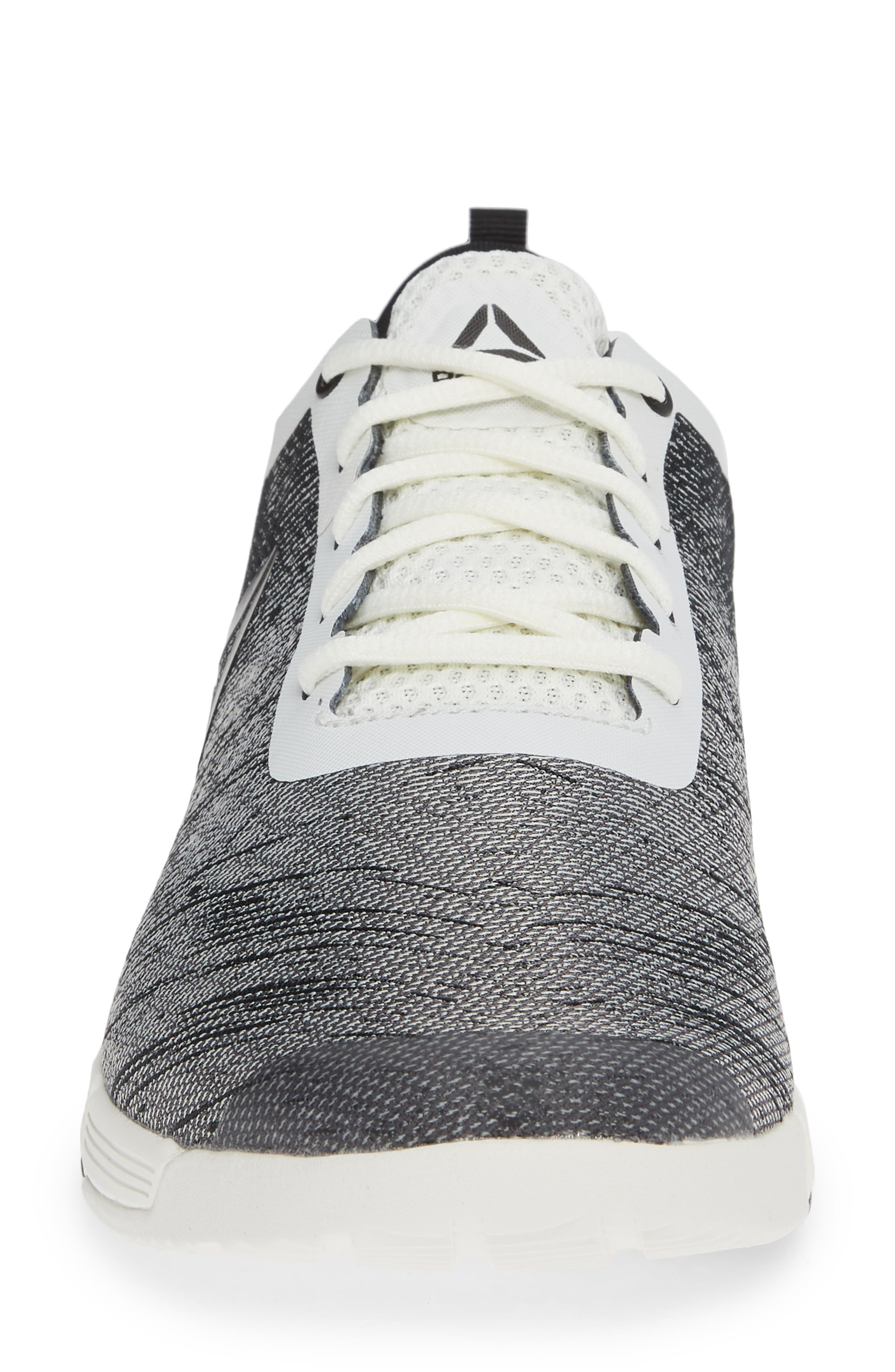 Speed Her TR Training Sneaker,                             Alternate thumbnail 4, color,                             CHALK/ BLACK/ ASH GREY