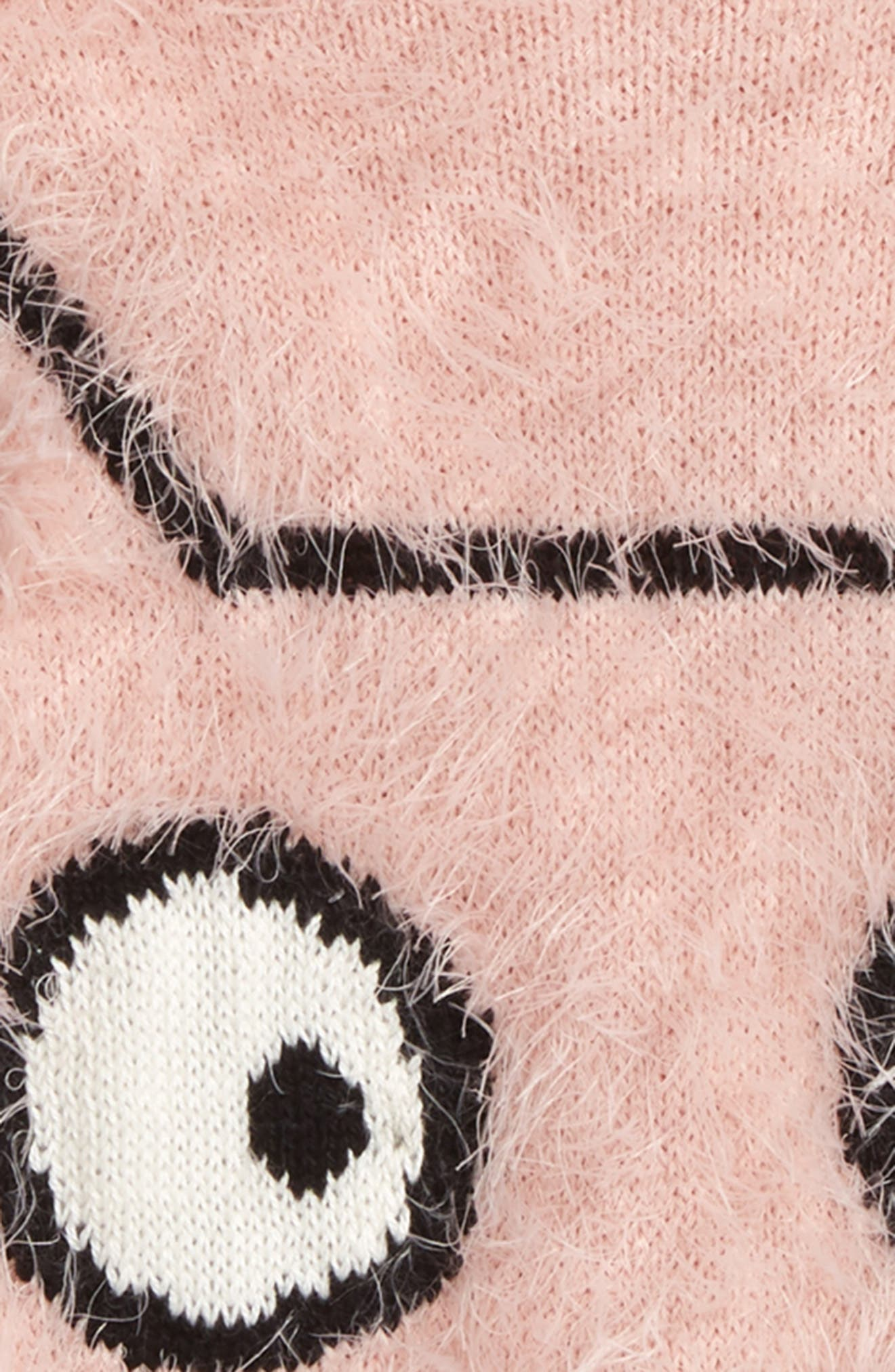 'Icon' Eyelash Sweater,                             Alternate thumbnail 11, color,