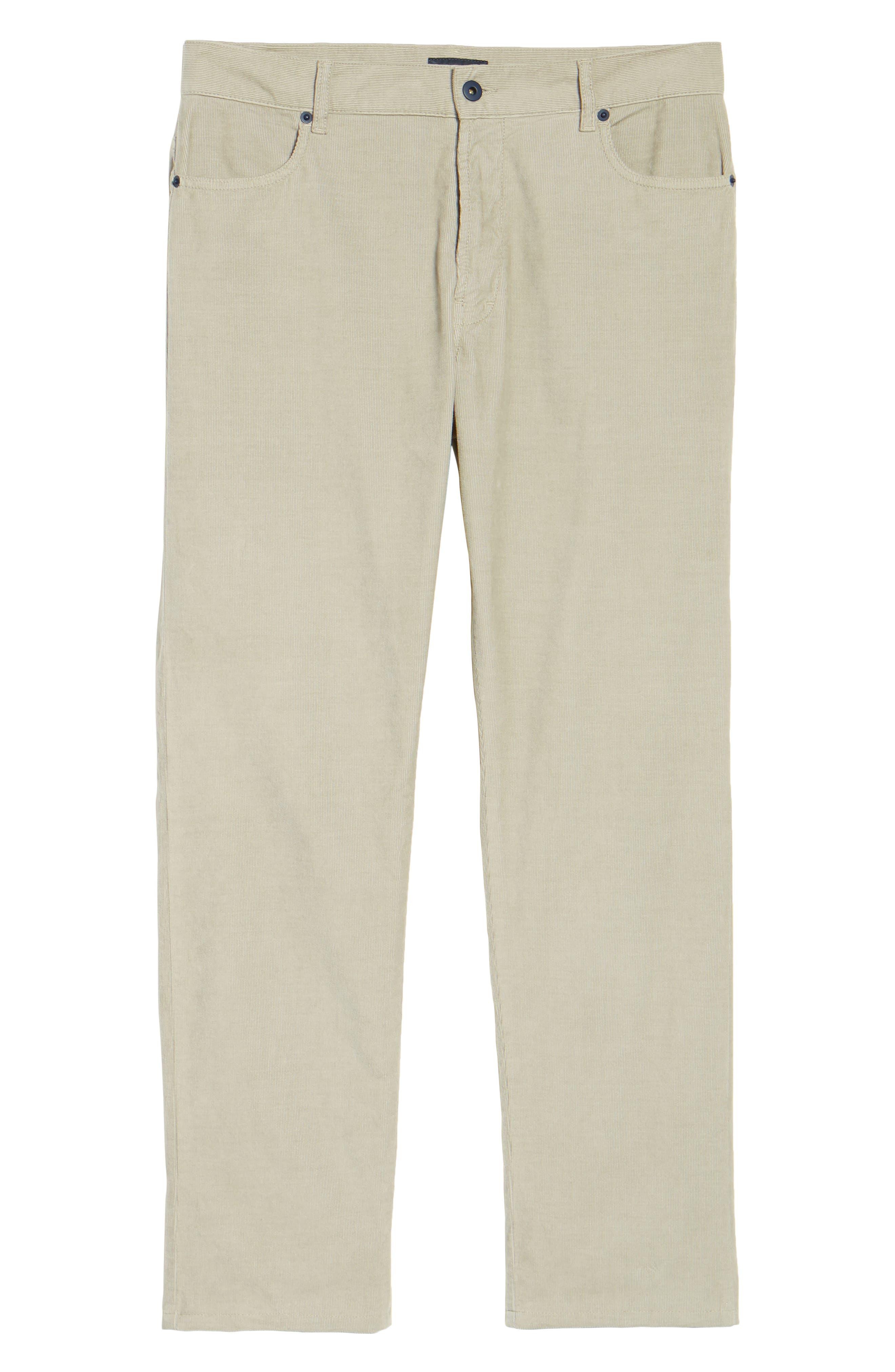 Redonda Stretch Corduroy Trousers,                             Alternate thumbnail 6, color,                             252