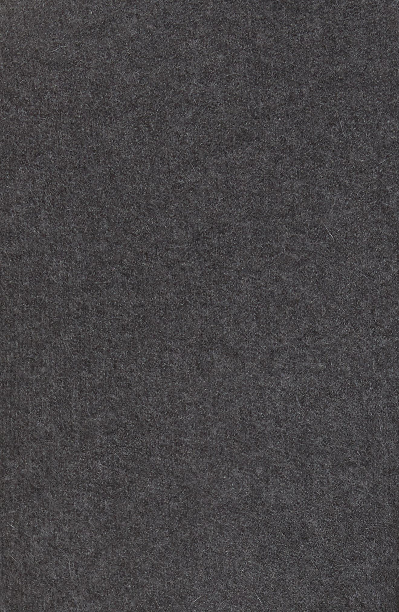 Sorin Merino Wool Blend Wrap Vest,                             Alternate thumbnail 5, color,                             020