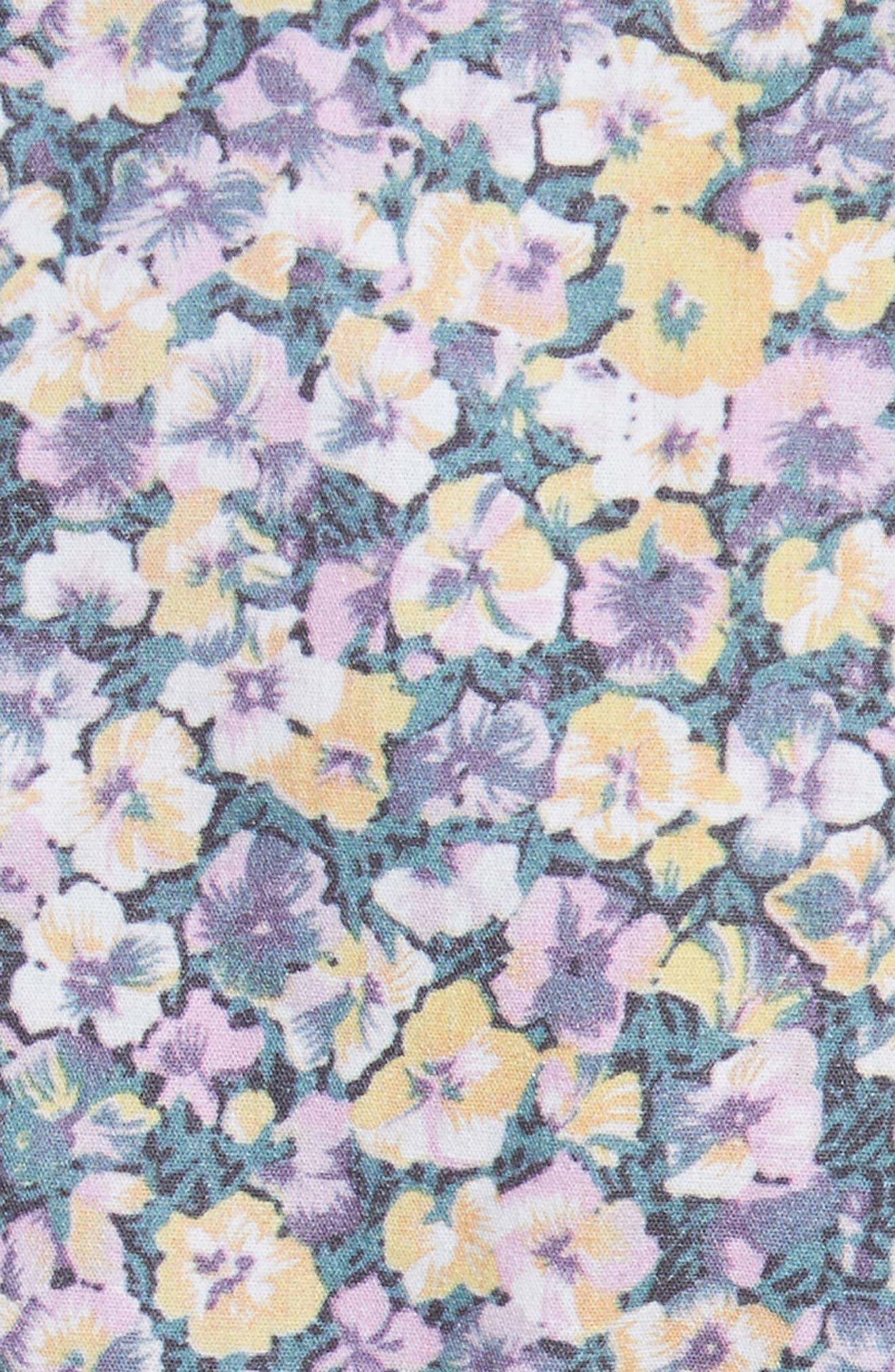 Pansies Top,                             Alternate thumbnail 5, color,