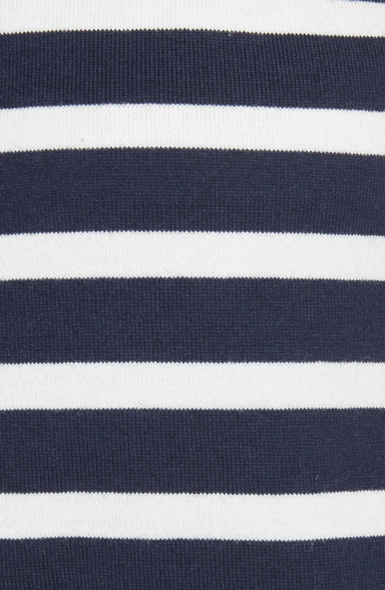 lace-up stripe tee,                             Alternate thumbnail 5, color,