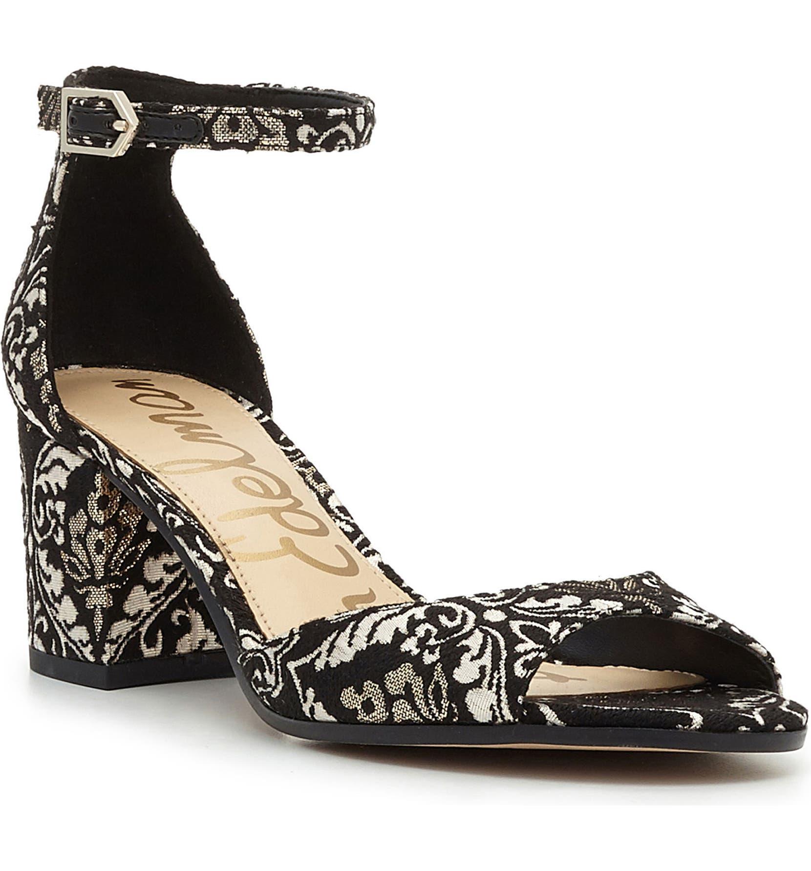0d0f1ba760a3dd Sam Edelman Susie d Orsay Ankle Strap Sandal (Women)
