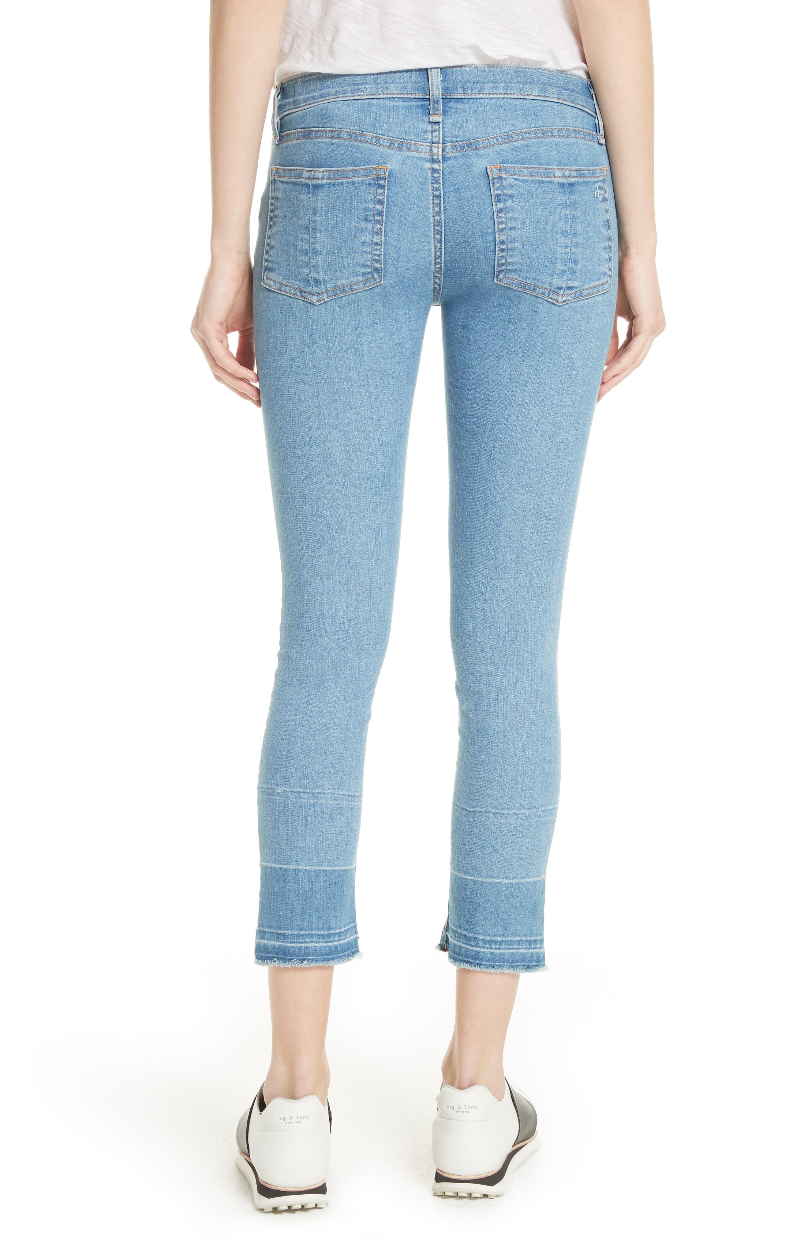 JEAN Release Hem Ankle Skinny Jeans,                             Alternate thumbnail 2, color,                             409