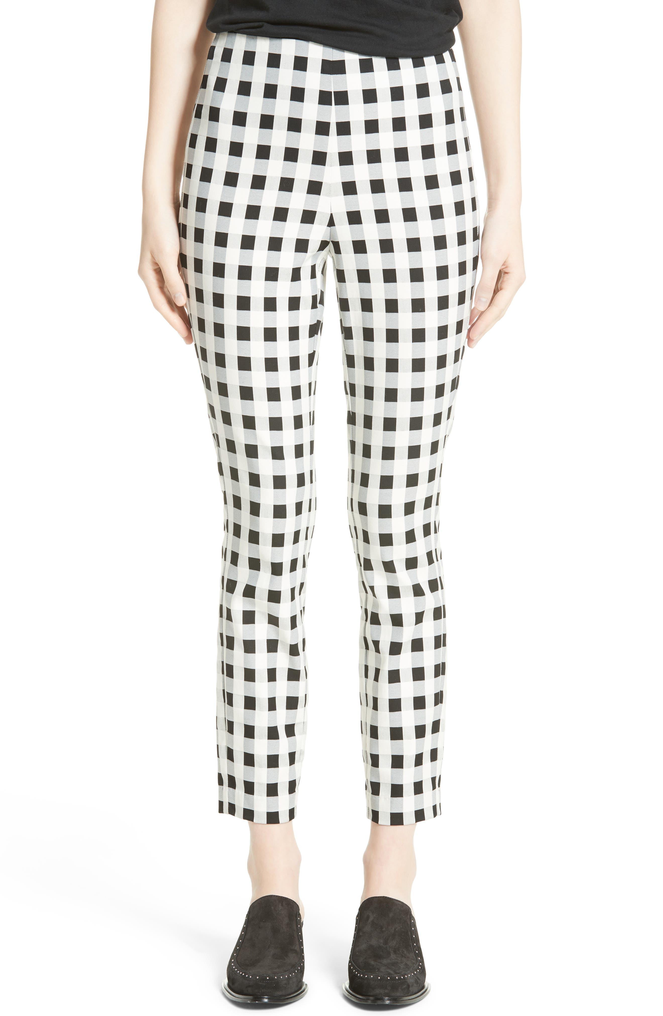 Simone Slim Ankle Pants,                         Main,                         color, 001