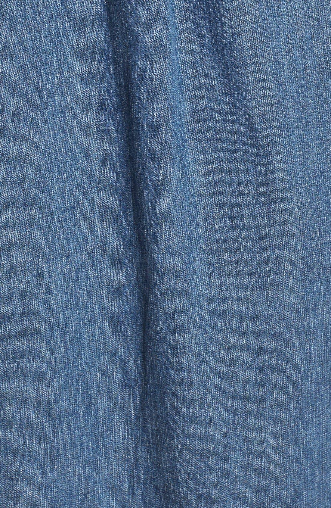 MADEWELL,                             Denim Shirtdress,                             Alternate thumbnail 2, color,                             405