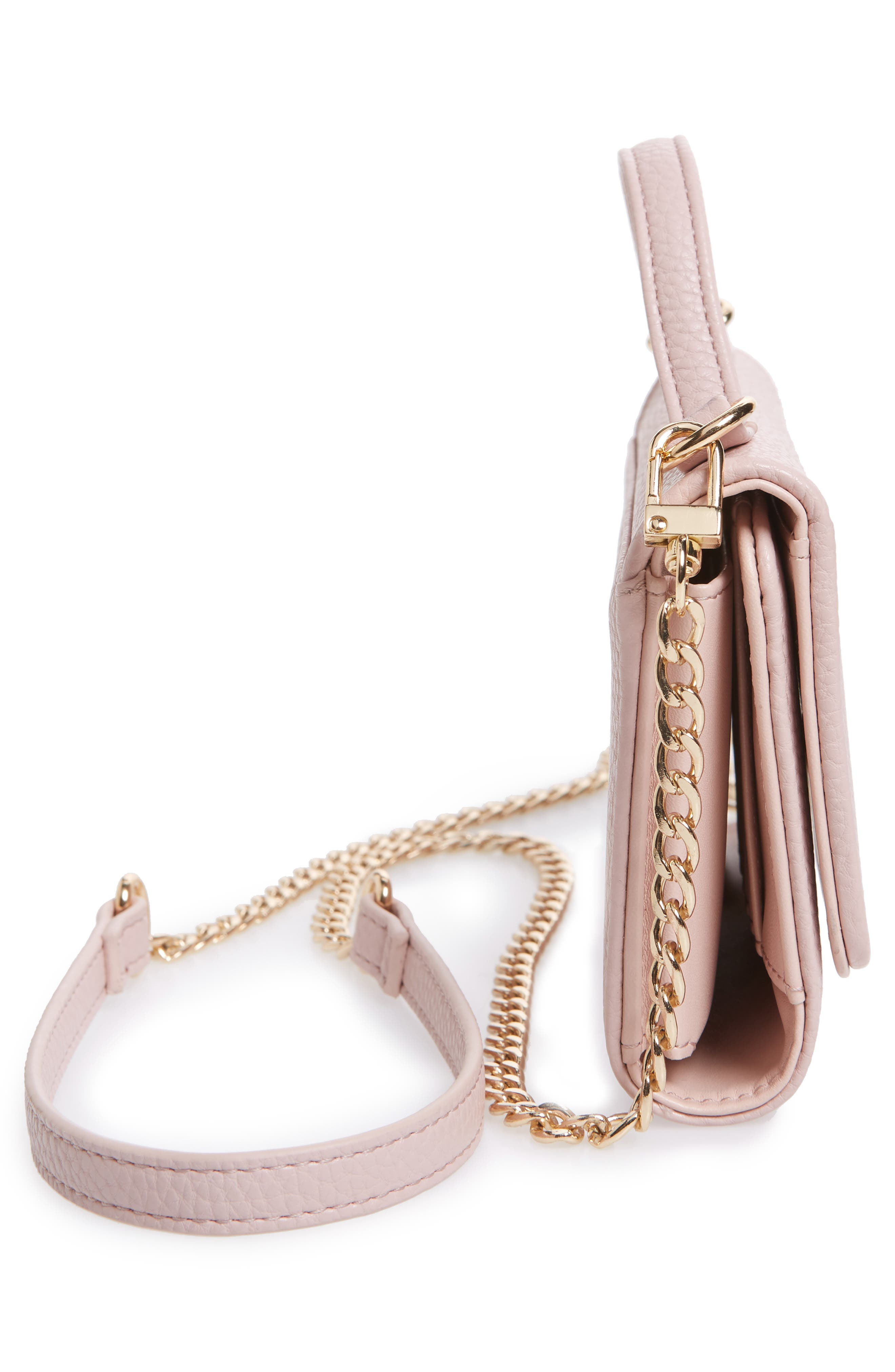 Dharma Faux Leather Wallet on a Chain,                             Alternate thumbnail 10, color,