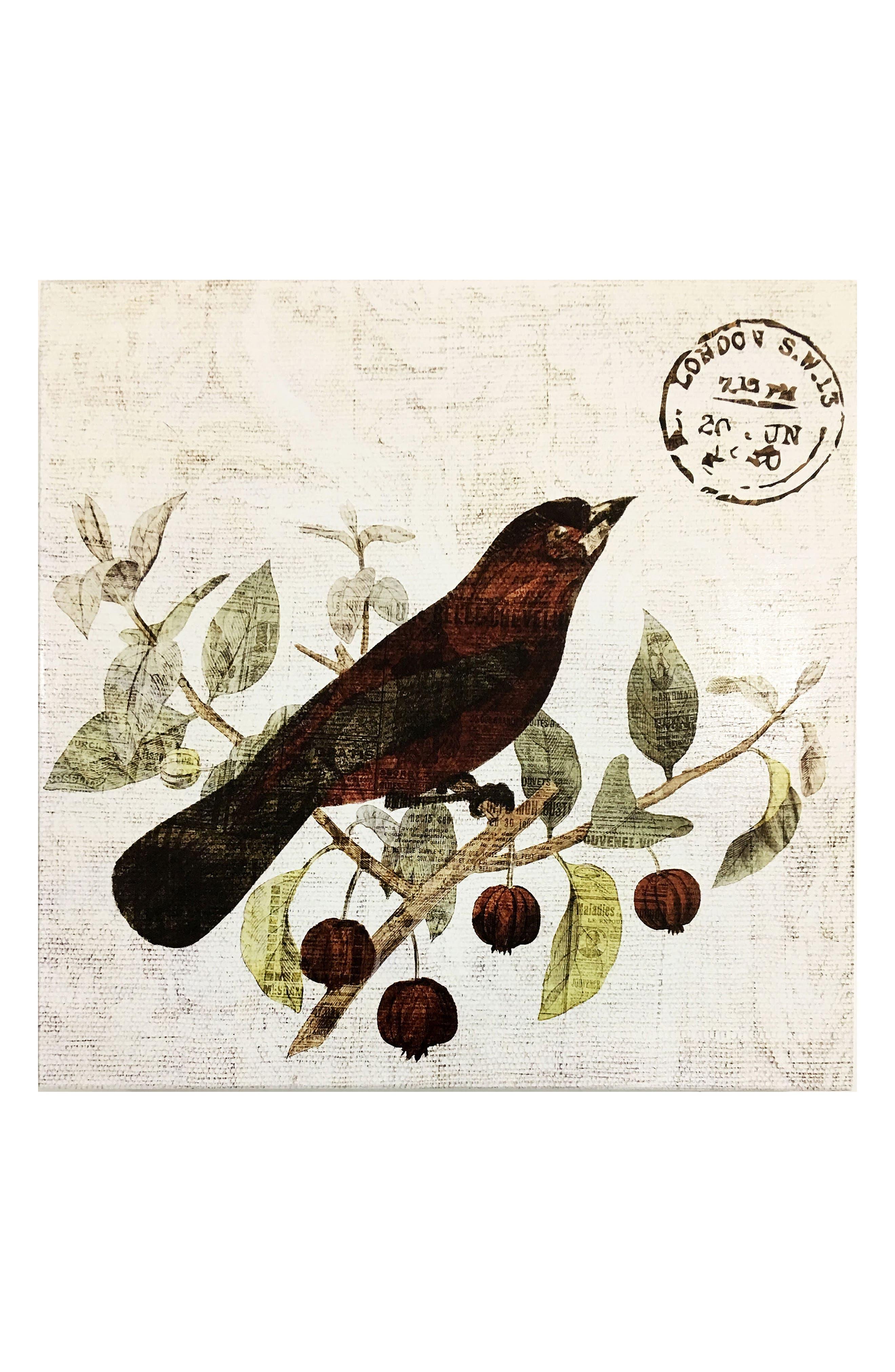 Wynwood Bird in the Tree II Wall Art,                         Main,                         color, 250