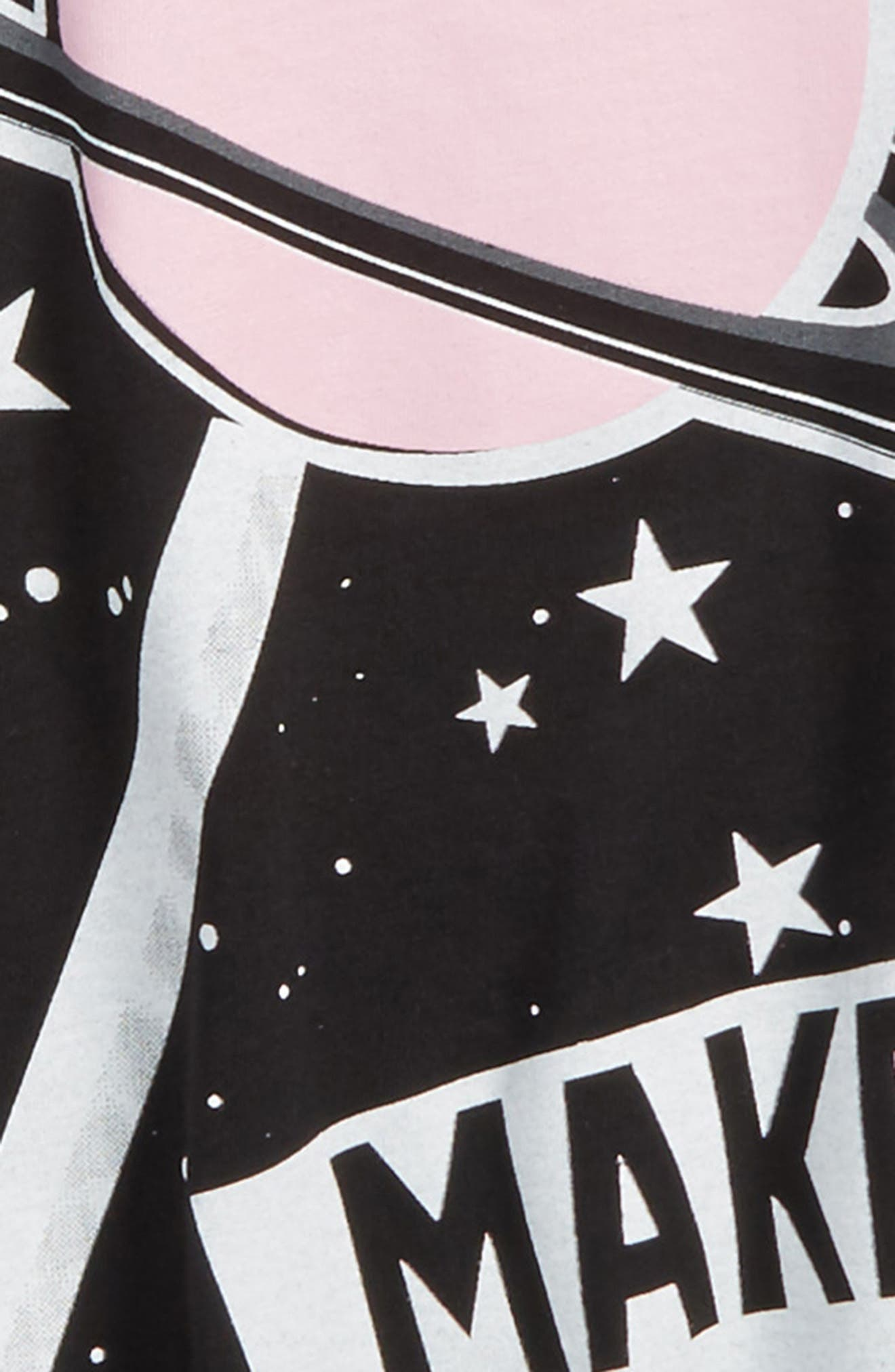Space Lollipop Twirl Dress,                             Alternate thumbnail 3, color,                             001