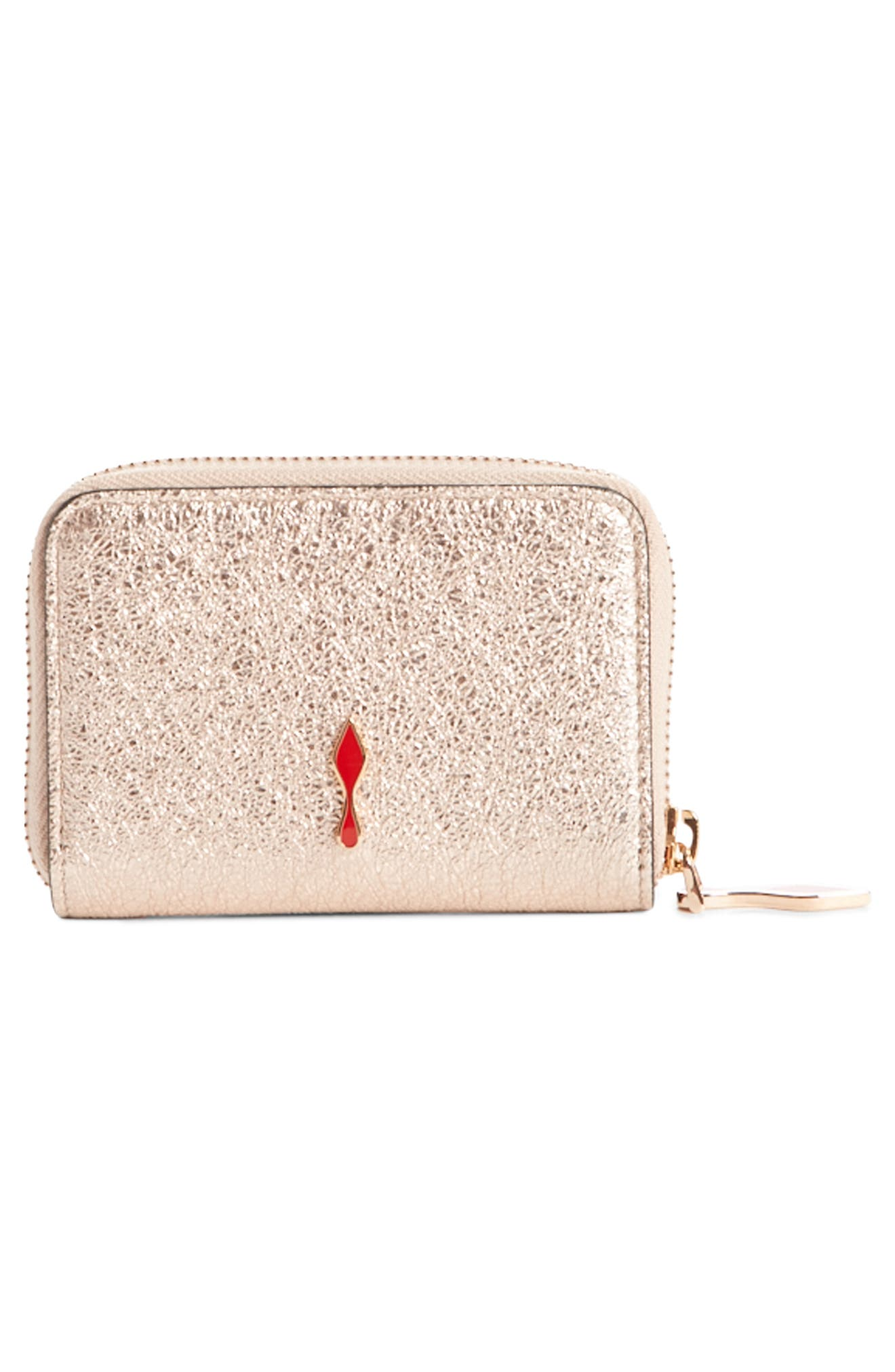 Panettone Leather Coin Purse,                             Alternate thumbnail 2, color,