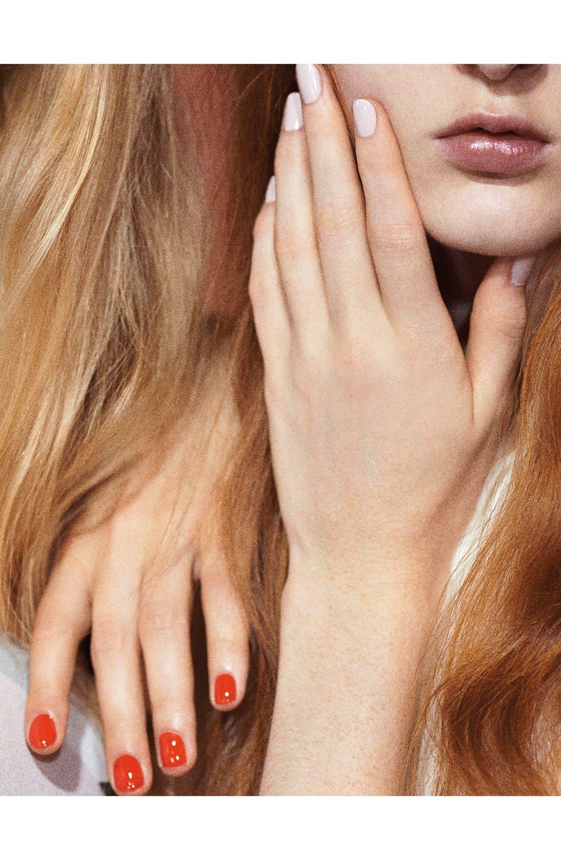 NAILS INC. LONDON,                             Victoria, Victoria Beckham for nails inc. London 'Bamboo White' Nail Polish,                             Alternate thumbnail 5, color,                             100