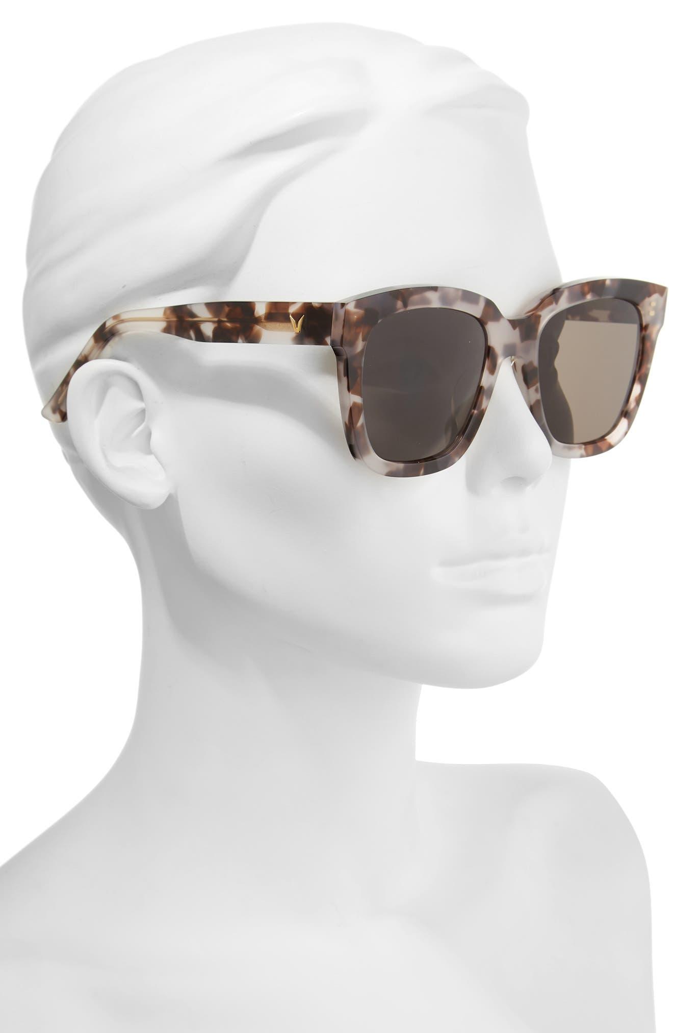 Dreamer Hoff 54mm Sunglasses,                             Alternate thumbnail 5, color,