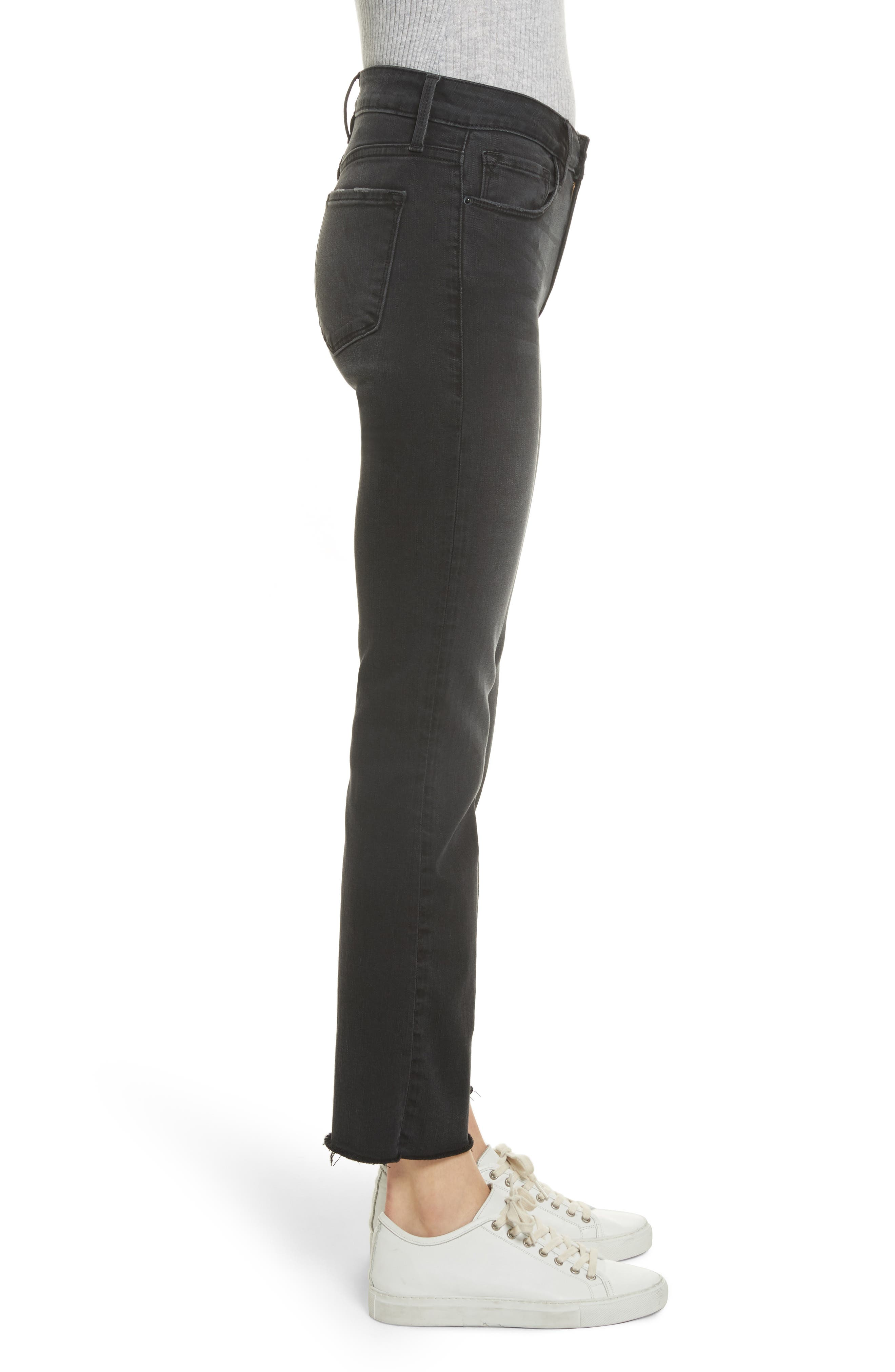 Le Crop Mini Boot Jeans,                             Alternate thumbnail 3, color,                             KERRY