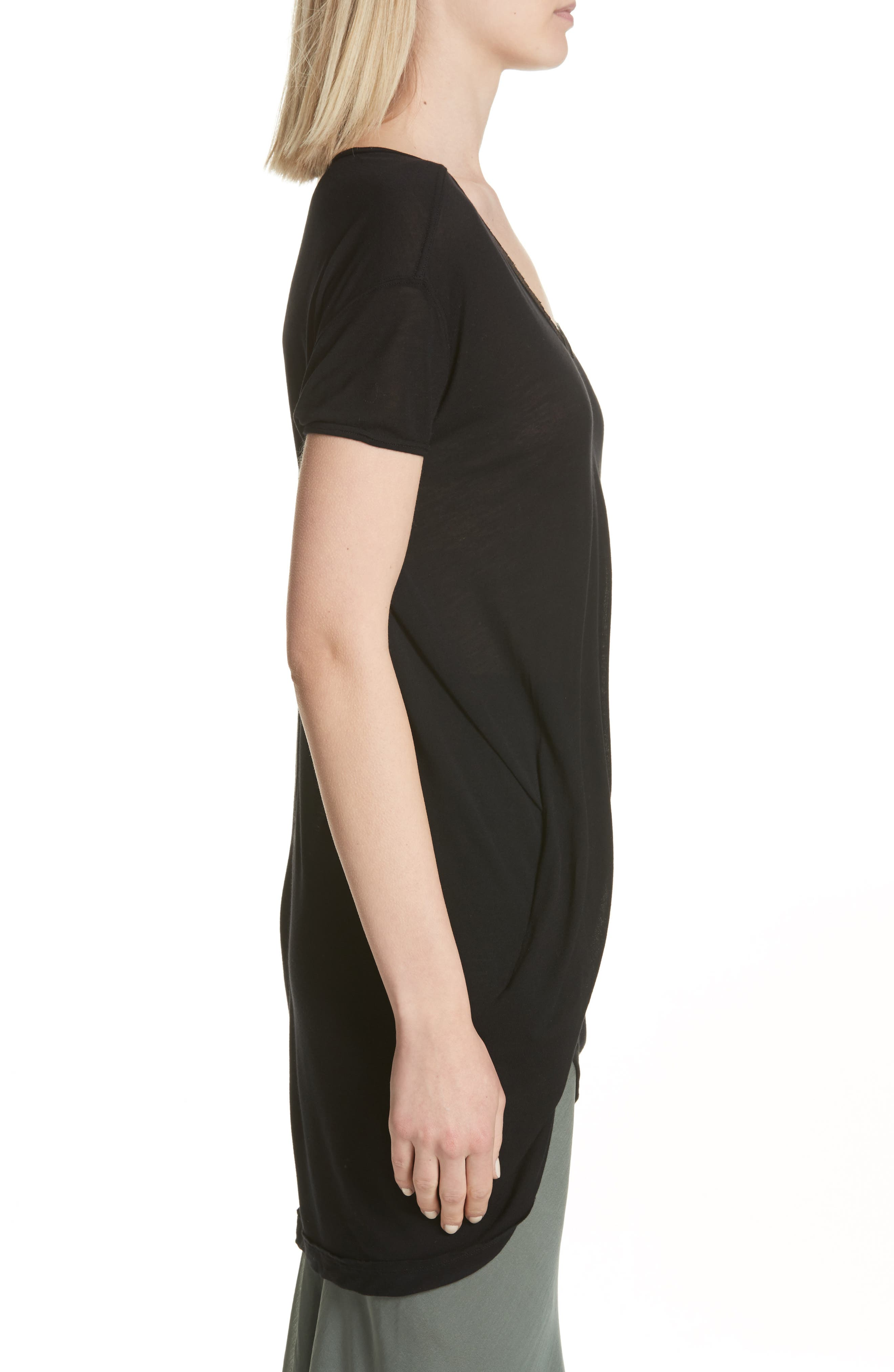 Sheer Tee,                             Alternate thumbnail 5, color,