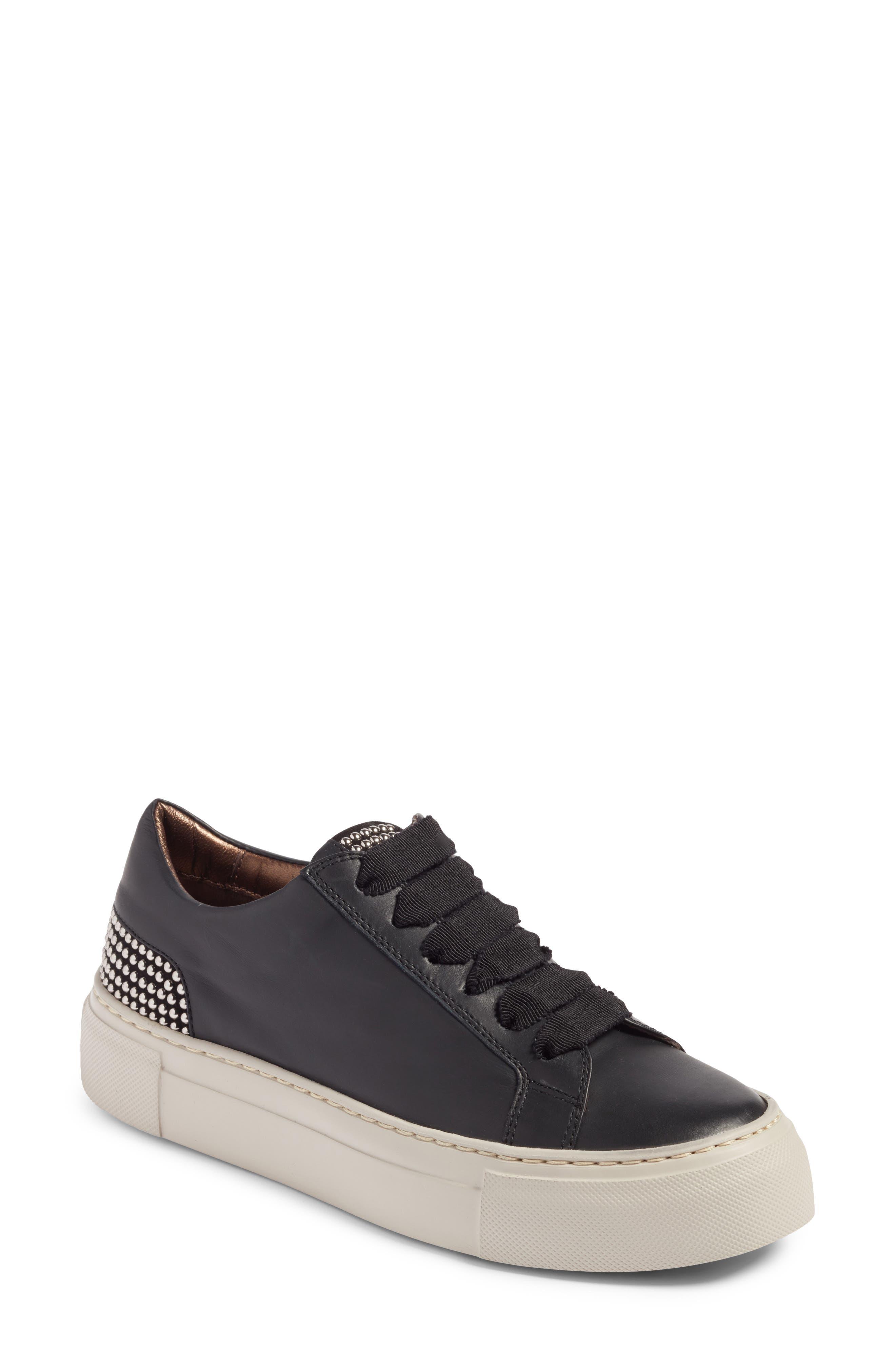 Pearl Sneaker,                         Main,                         color, BLACK