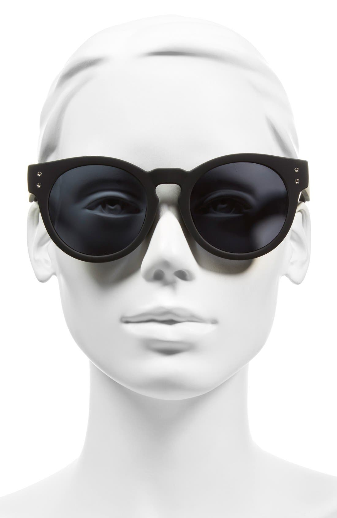 'High Emotion' 50mm Sunglasses, Main, color, 001