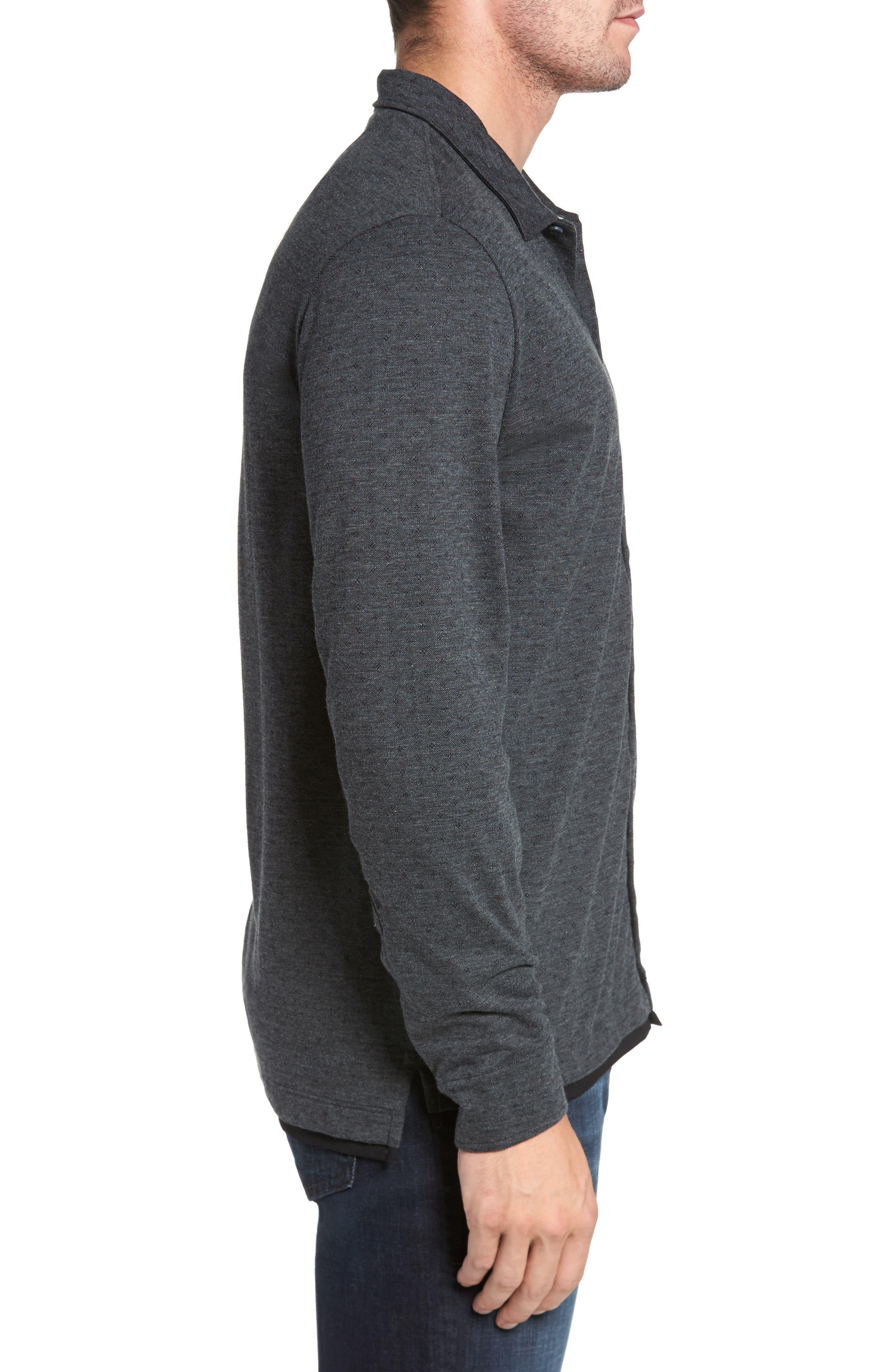 Jacquard Knit Sport Shirt,                             Alternate thumbnail 9, color,
