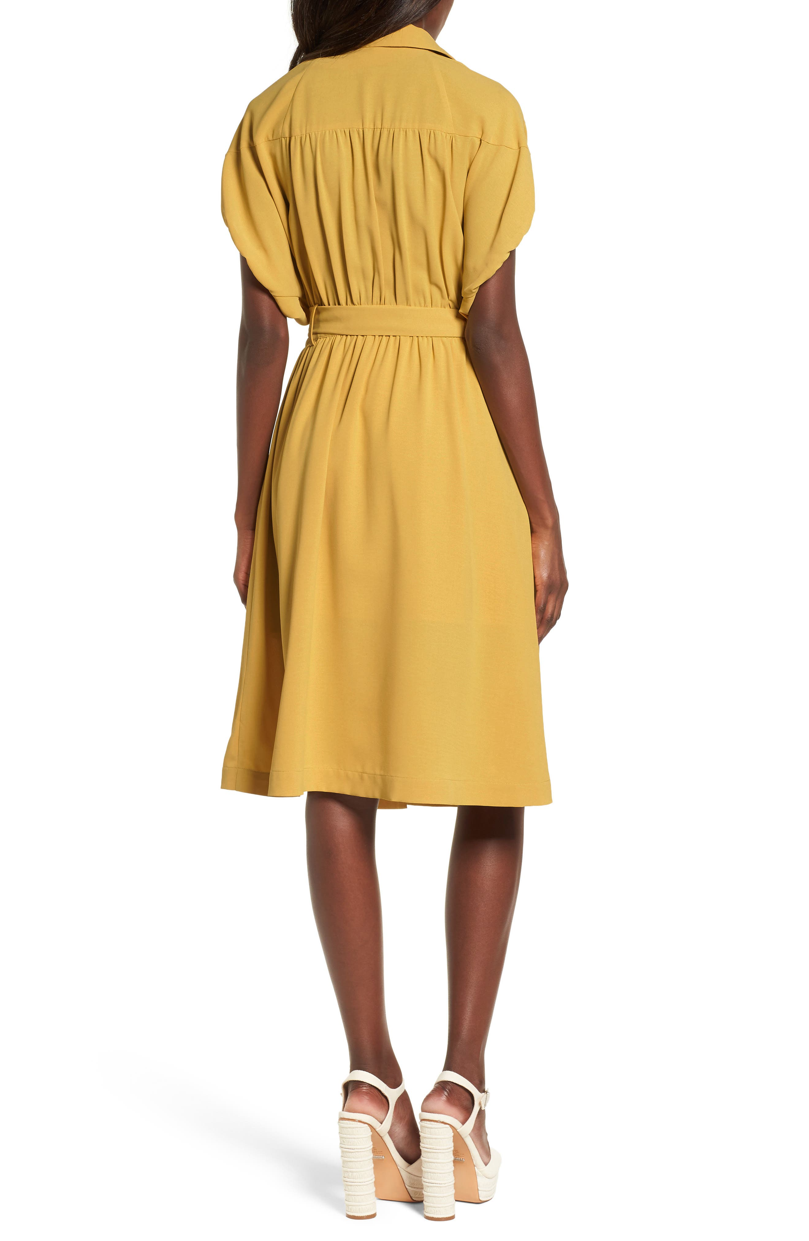 Chriselle x J.O.A. Cocoon Sleeve Dress,                             Alternate thumbnail 2, color,                             700