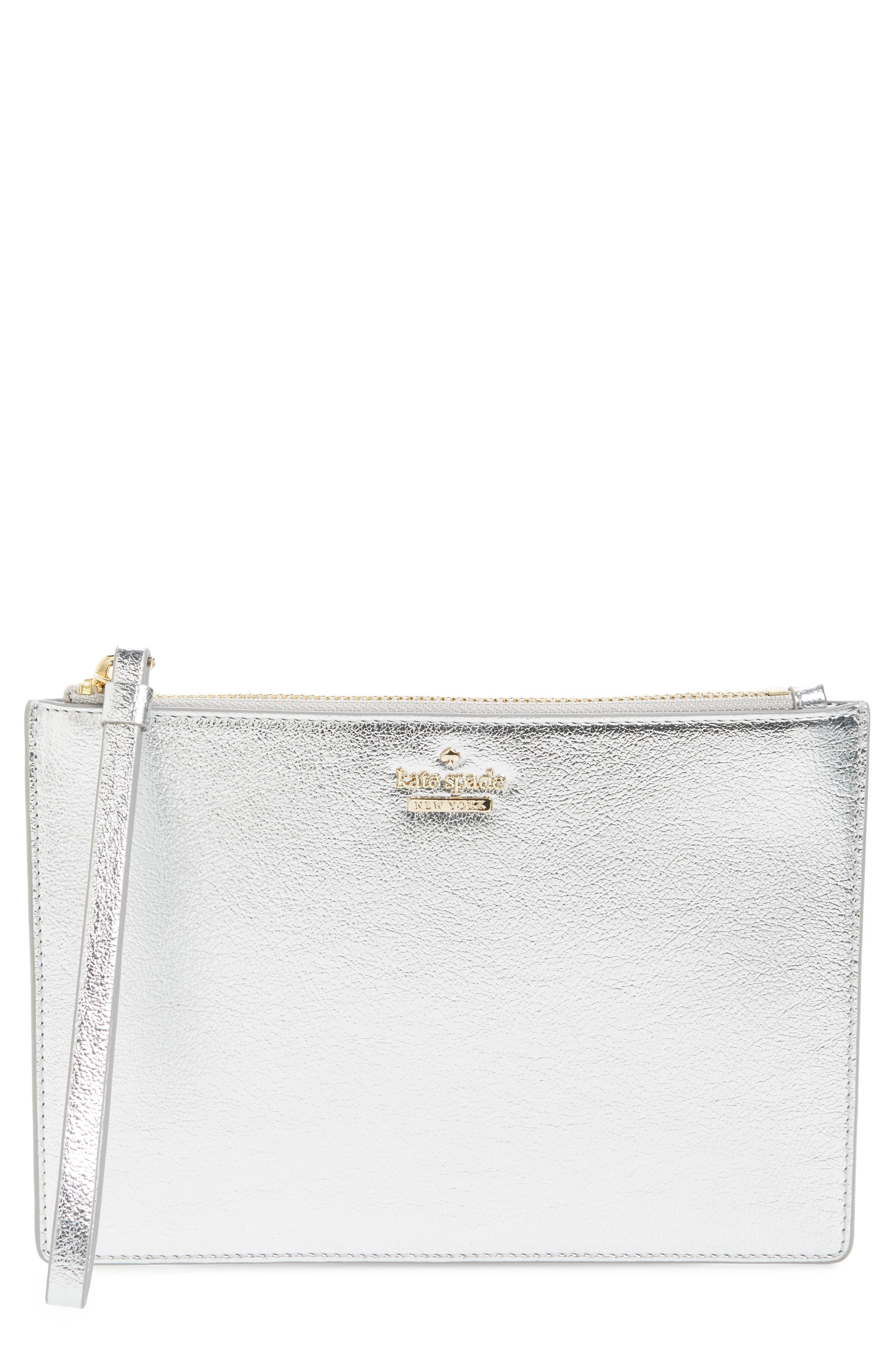 highland drive - yury faux leather zip pouch,                         Main,                         color, 040