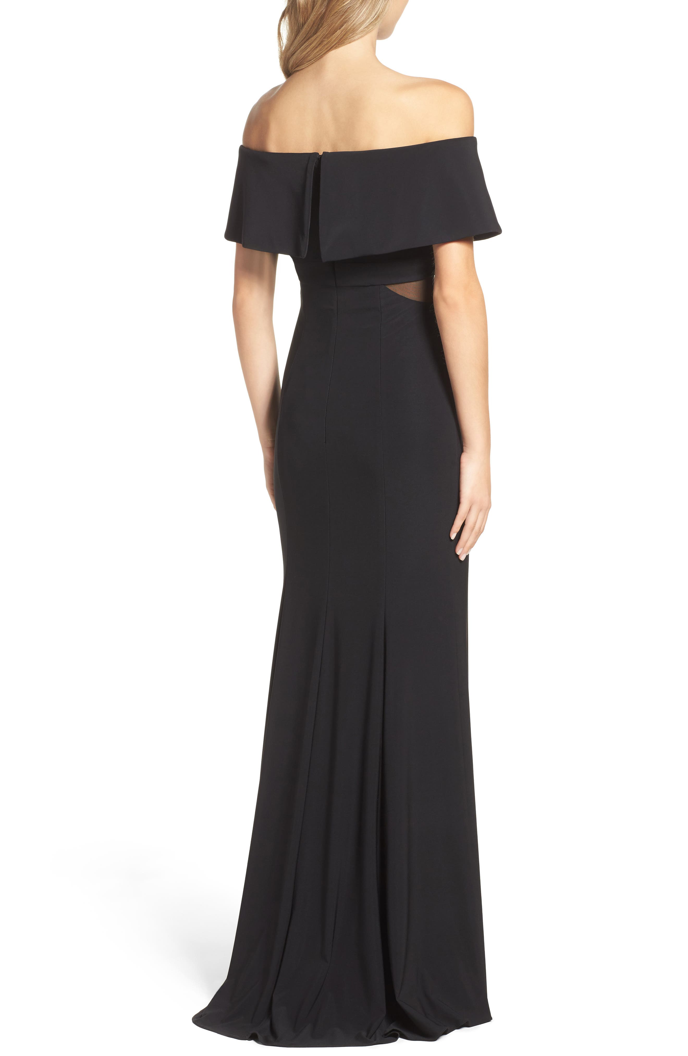Jersey Popover Gown,                             Alternate thumbnail 5, color,