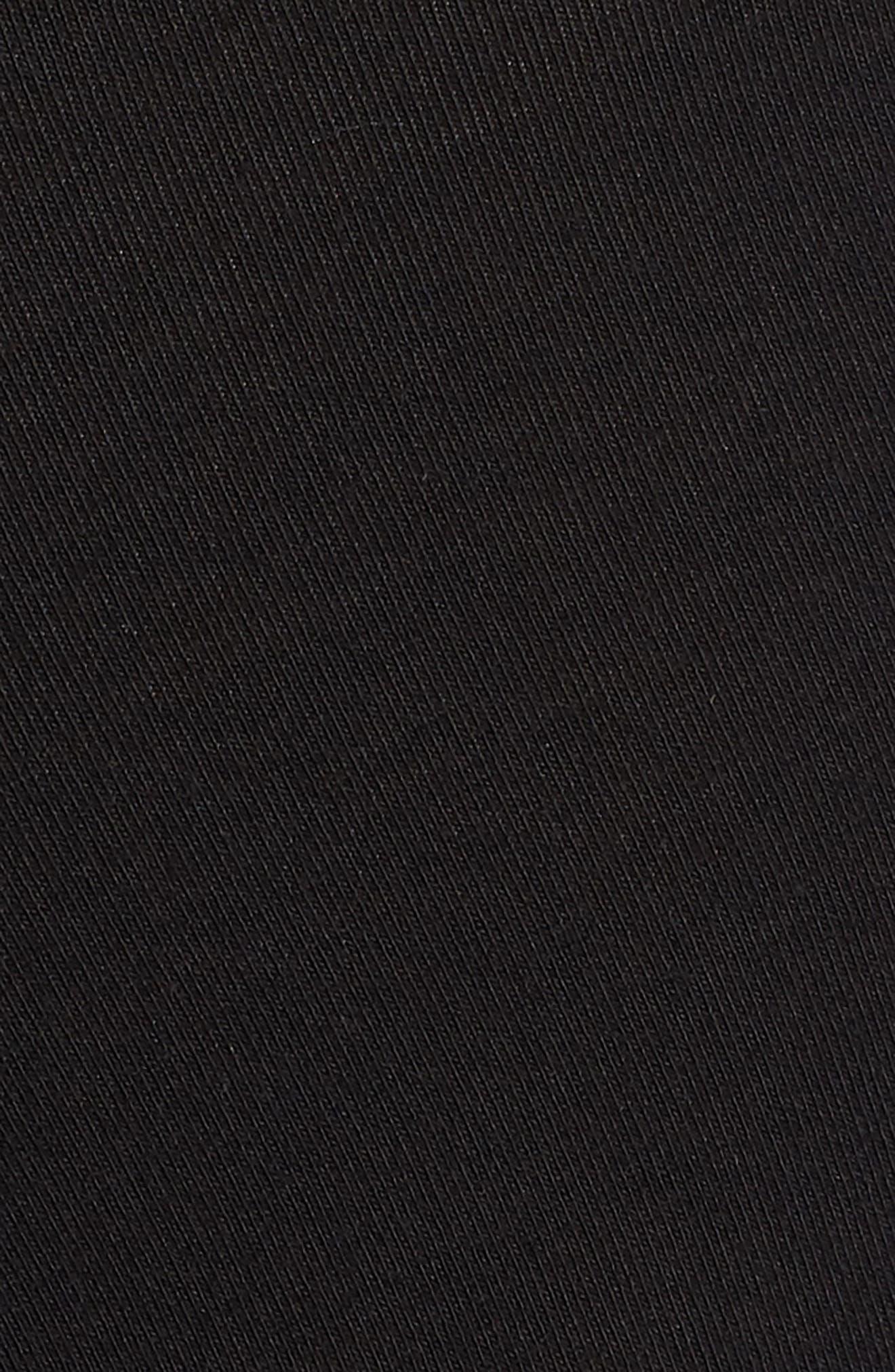 Long Trunks,                             Alternate thumbnail 5, color,                             BLACK/ GOLD