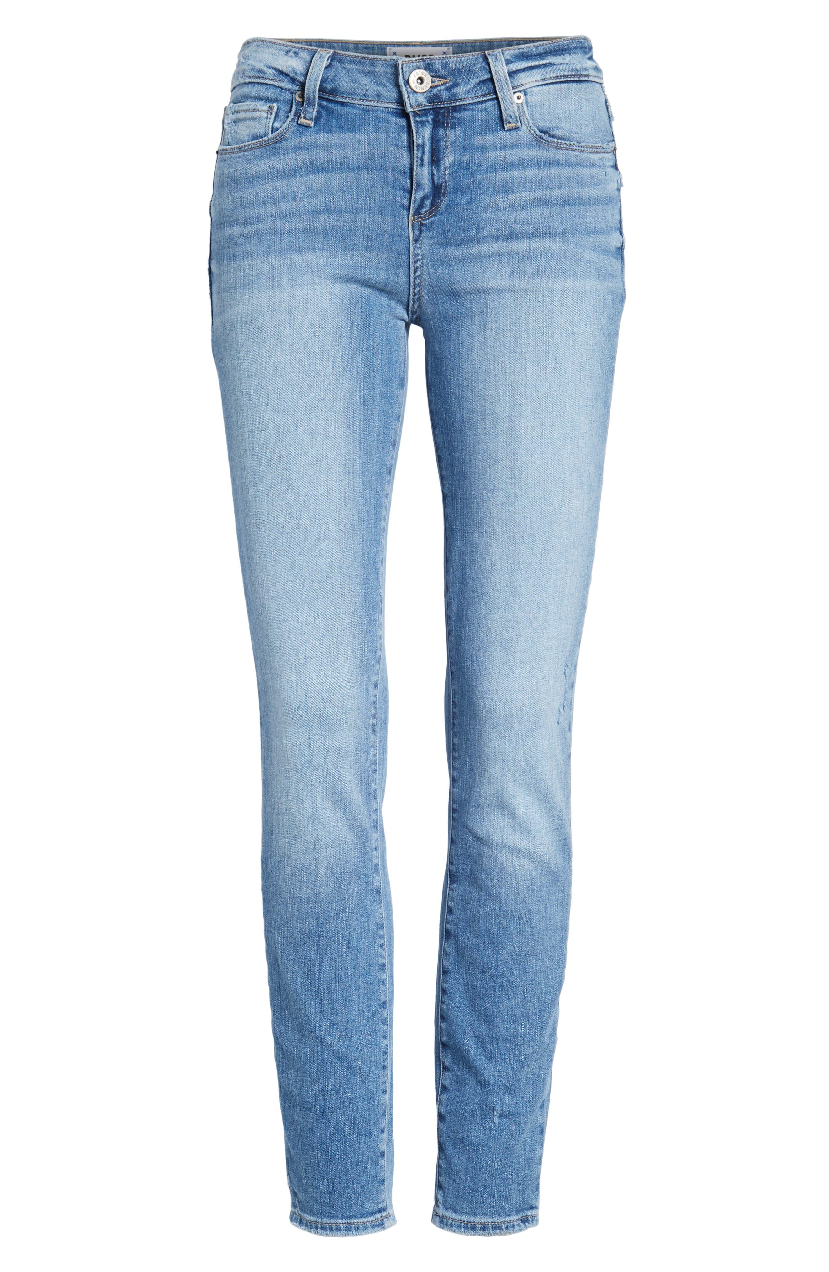 Transcend - Verdugo Ankle Ultra Skinny Jeans,                             Alternate thumbnail 6, color,                             400